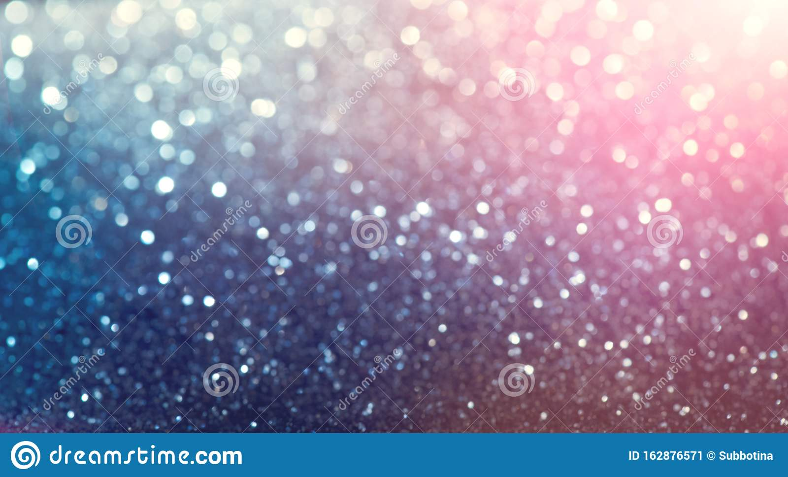 Christmas colorful vintage background. Holiday glowing backdrop. Defocused Background With Blinking Stars