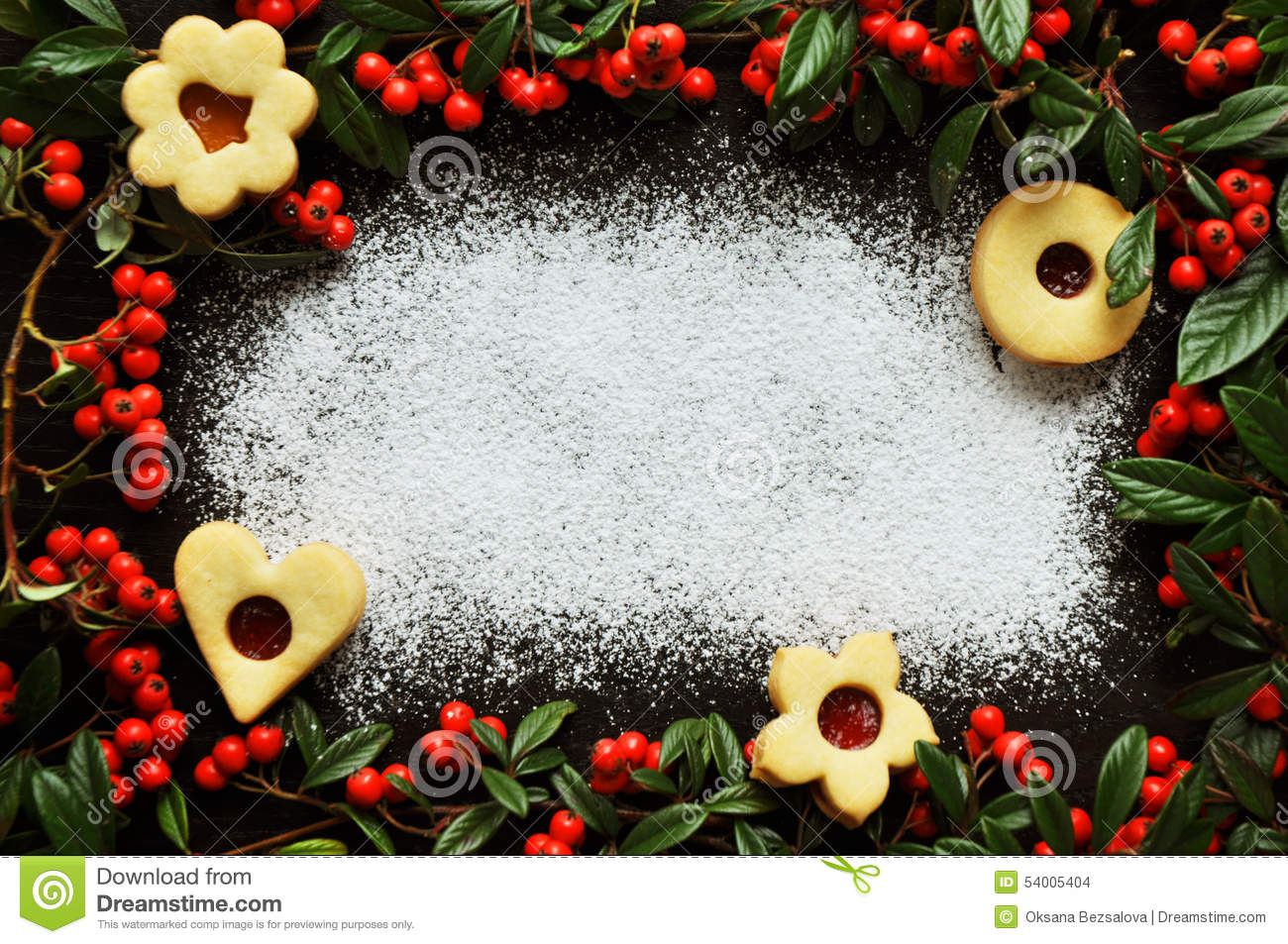 Decorated Christmas Tree Cookies
