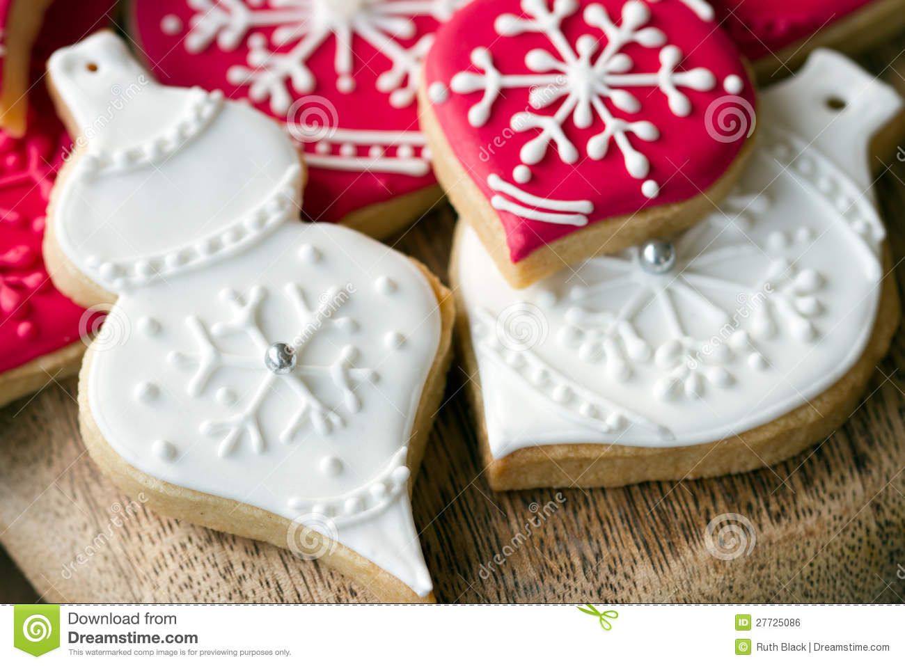Christmas cookies stock photo. Image of treat, variety - 27725086