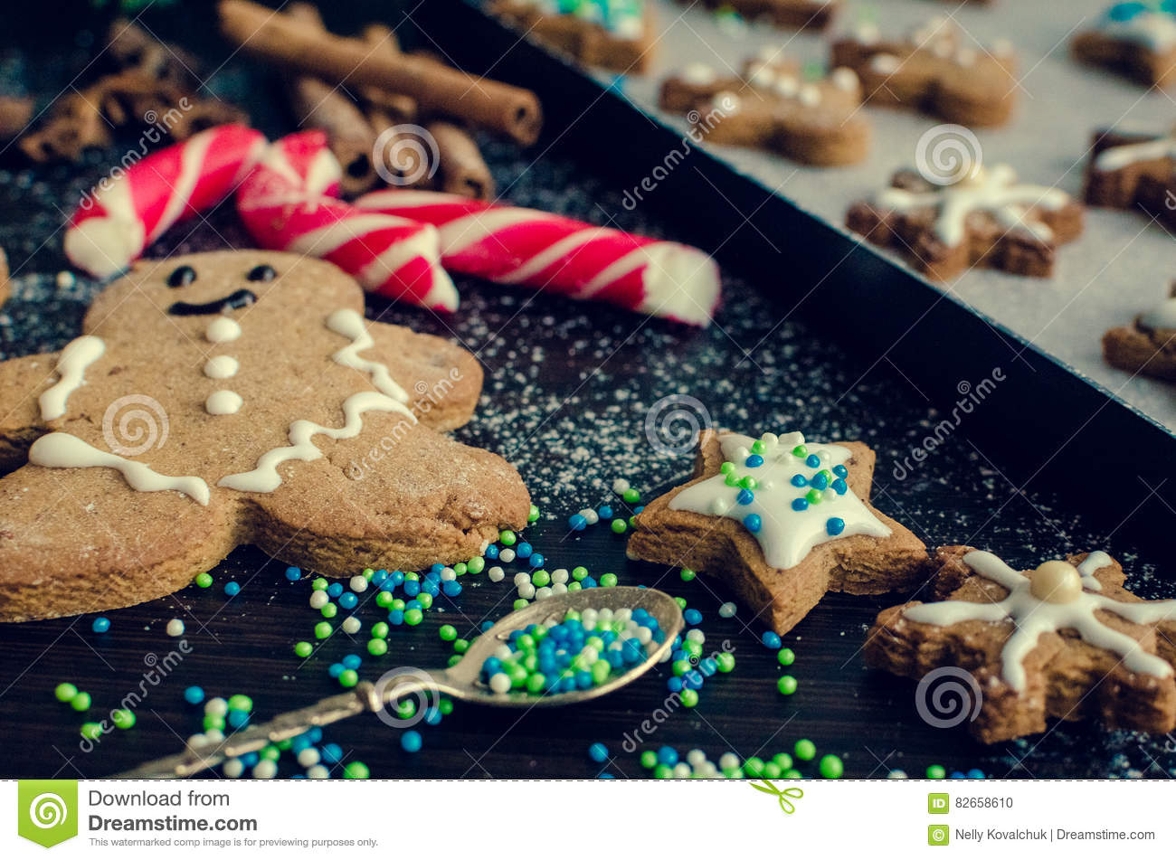 Christmas Cookies Concept Stock Photo Image Of Homemade 82658610