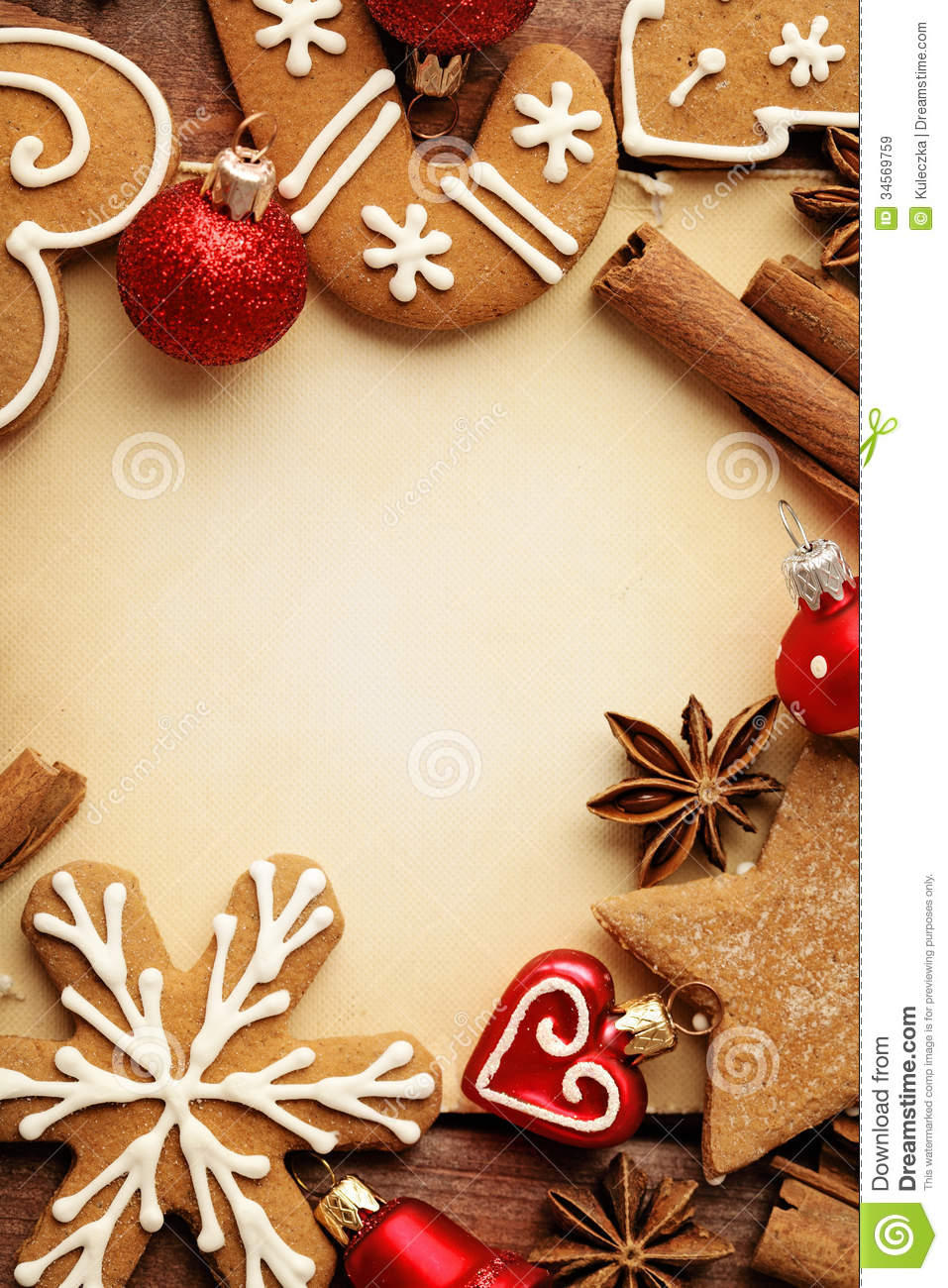 Christmas Cookies Stock Image Image Of Ornaments Celebration