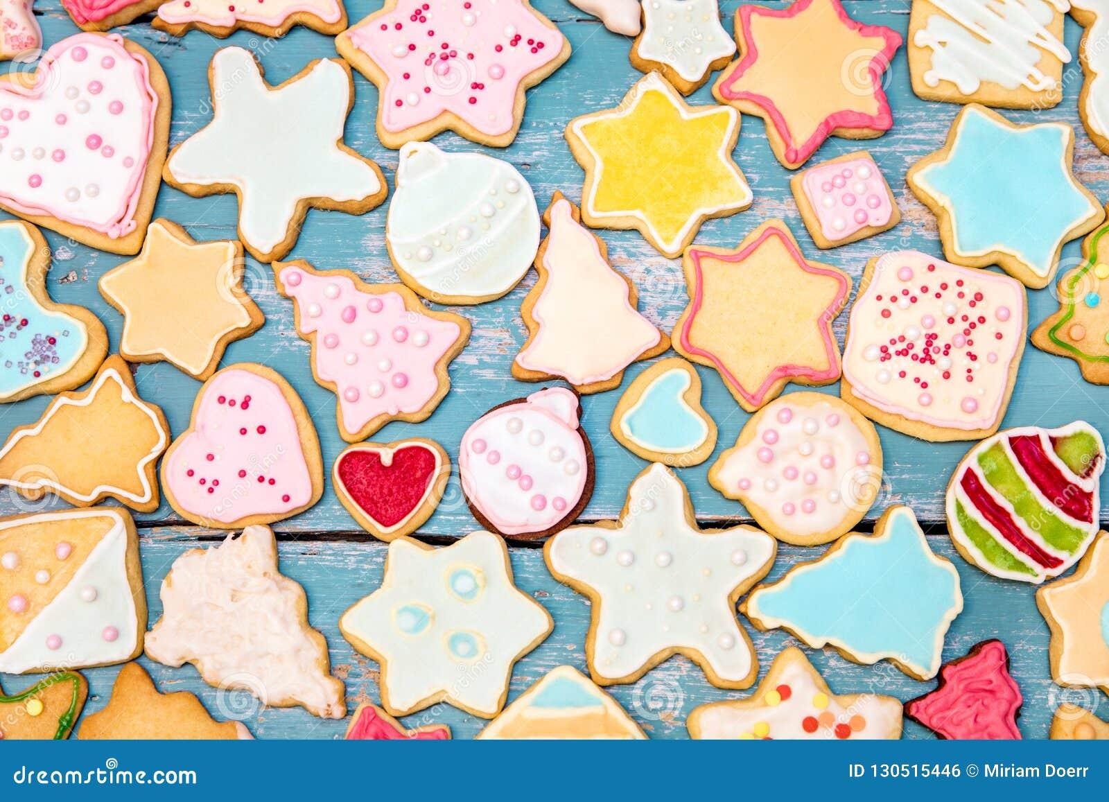 Royal Icing Christmas Cookies.Christmas Cookies With Frosting And Royal Icing Christmas