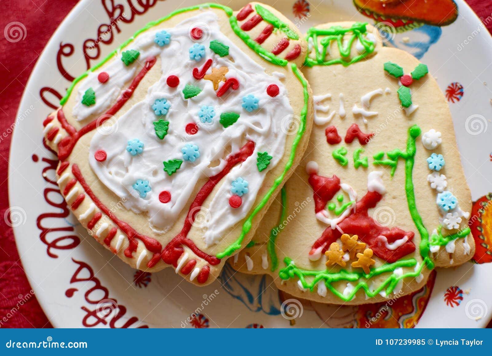 Christmas Cookies Stock Image Image Of Cookies Christmas 107239985
