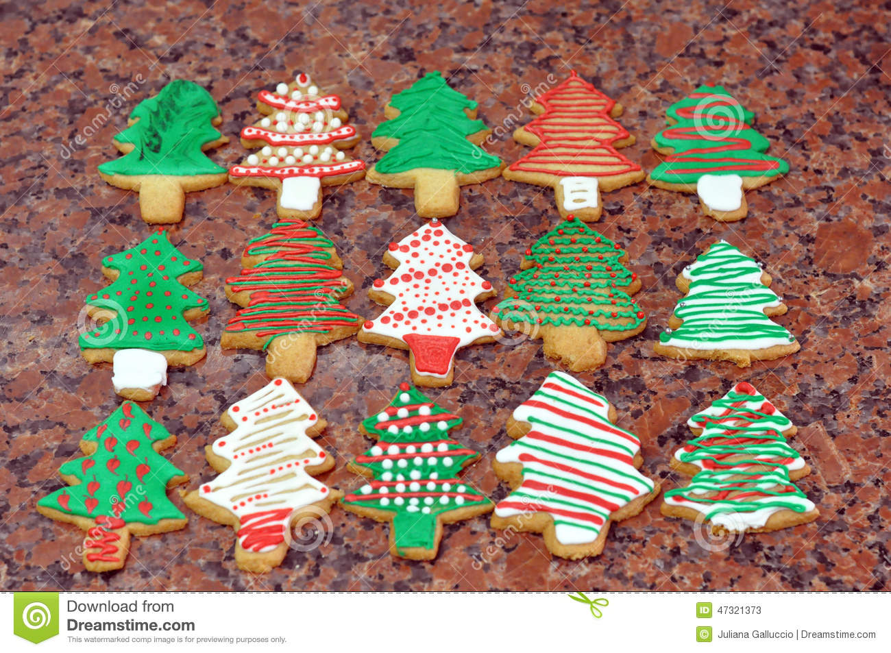 Christmas Cookies Stock Image Image Of Colourful Celebration