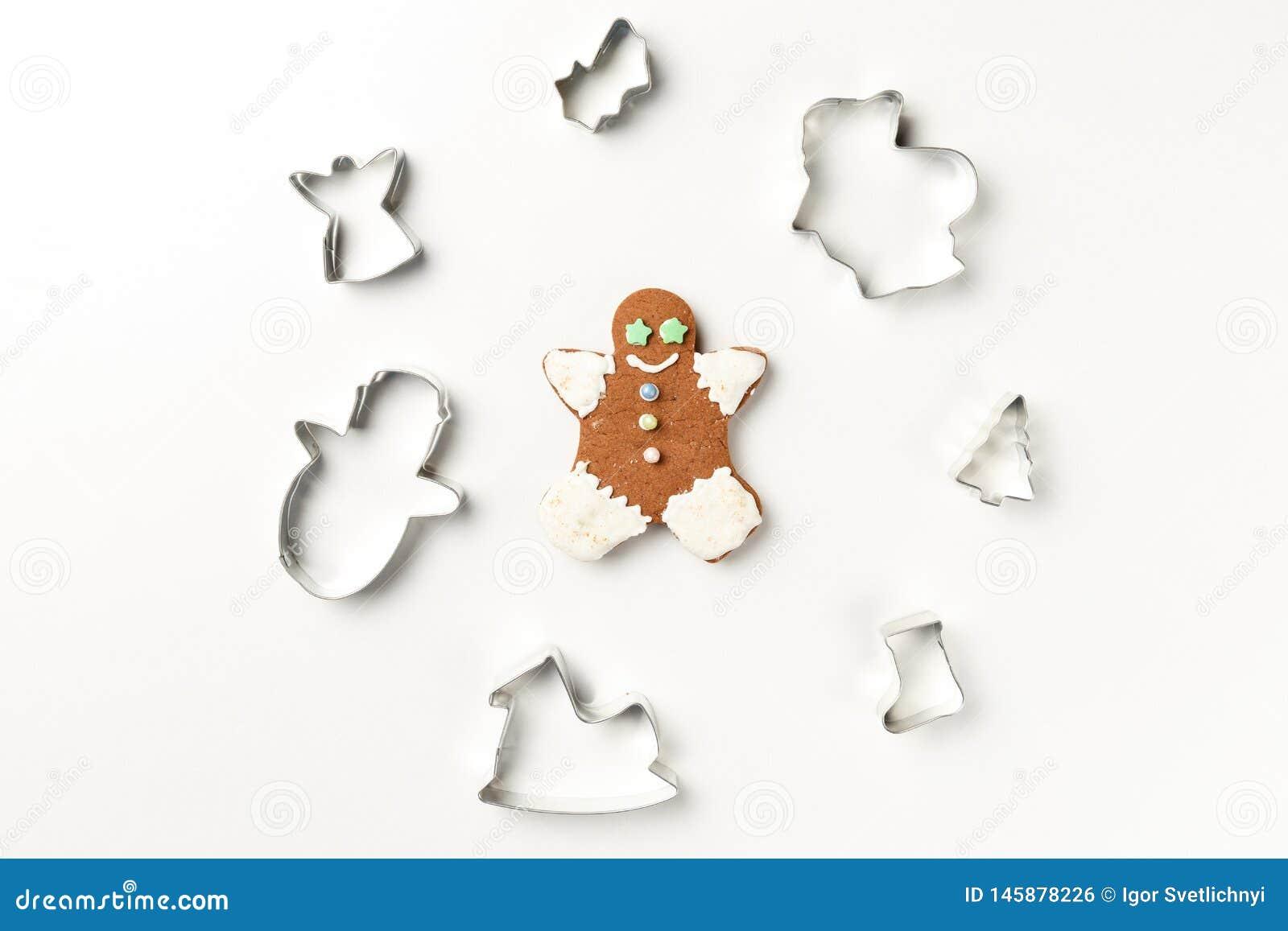 Christmas cookies various shape cutter