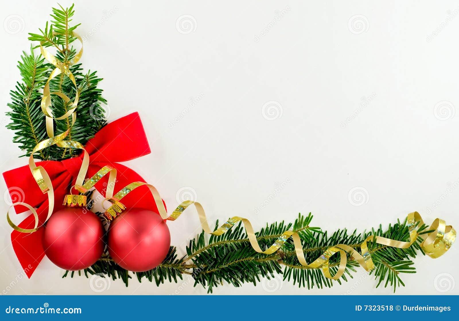 christmas corner stock photo  image of corner  ribbon