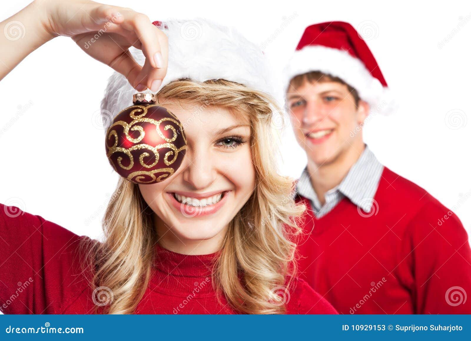Christmas Couple Stock Photos - Image: 10929153