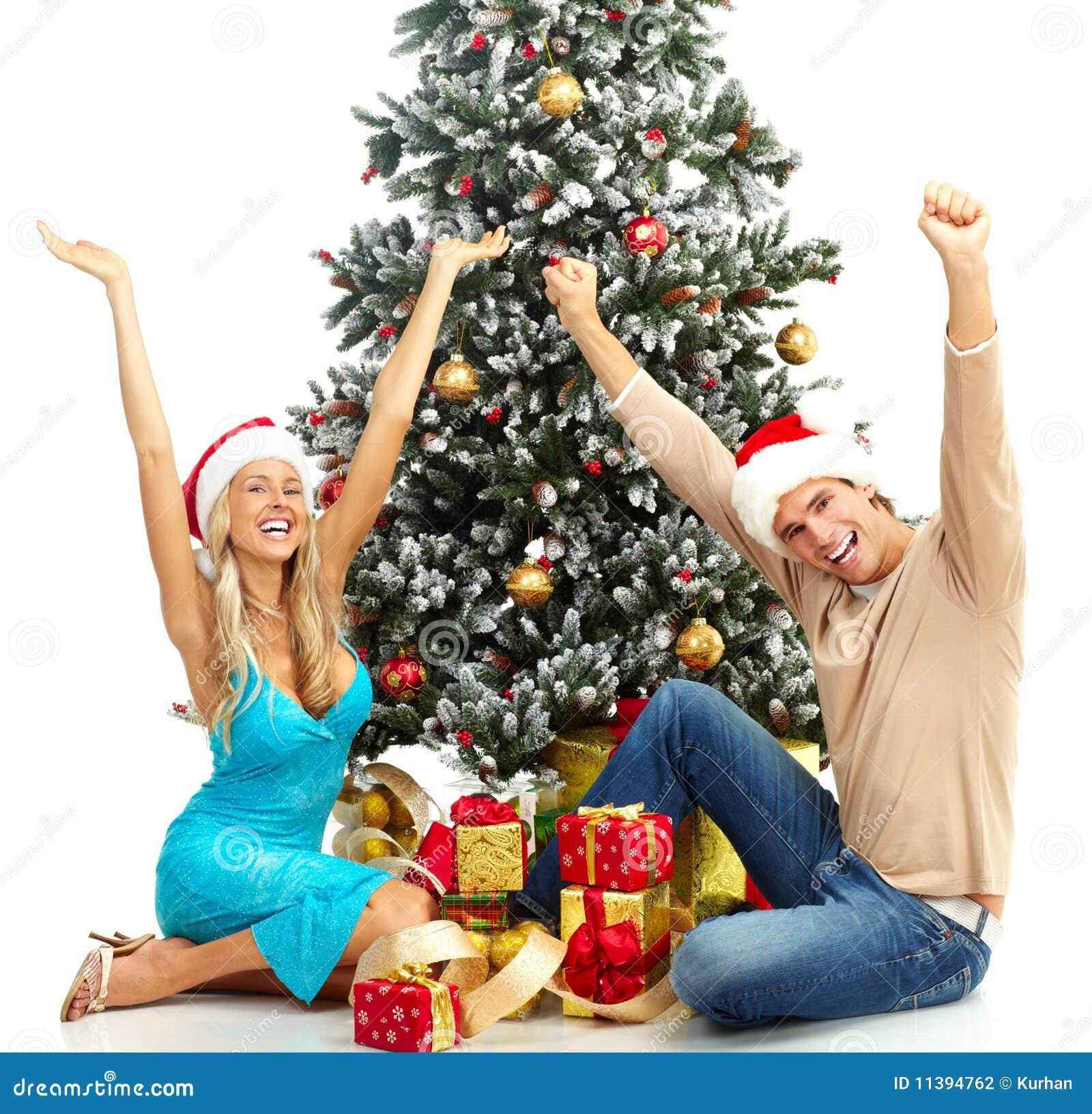 Christmas Couple Stock Photography - Image: 11394762