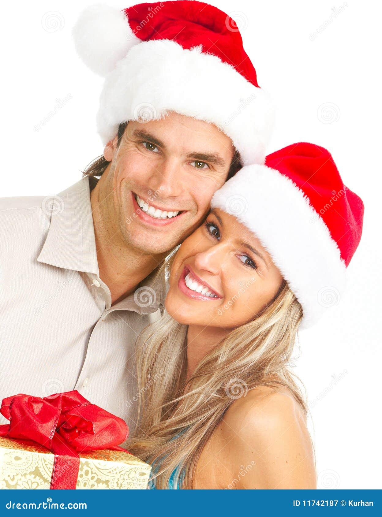 Christmas Couple Royalty Free Stock Photography - Image: 11742187