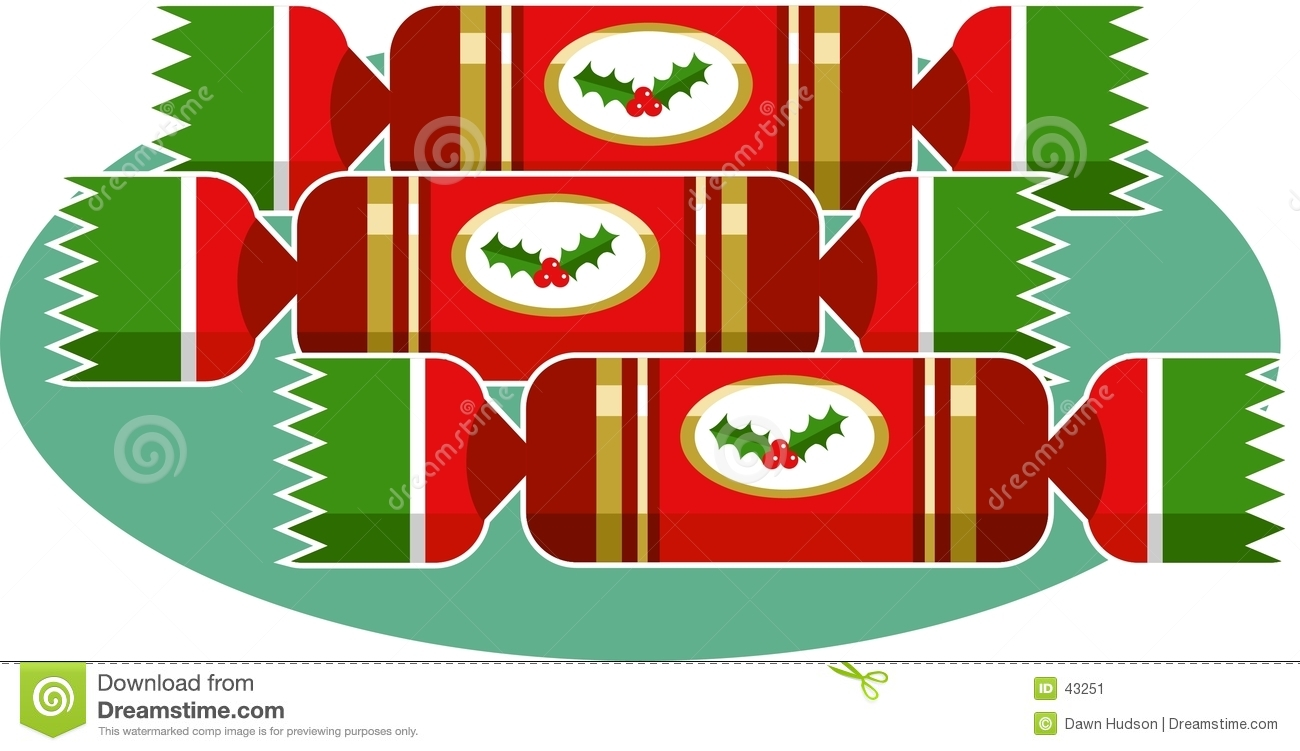 Christmas Crackers Cartoon.Christmas Crackers Stock Vector Illustration Of Presents