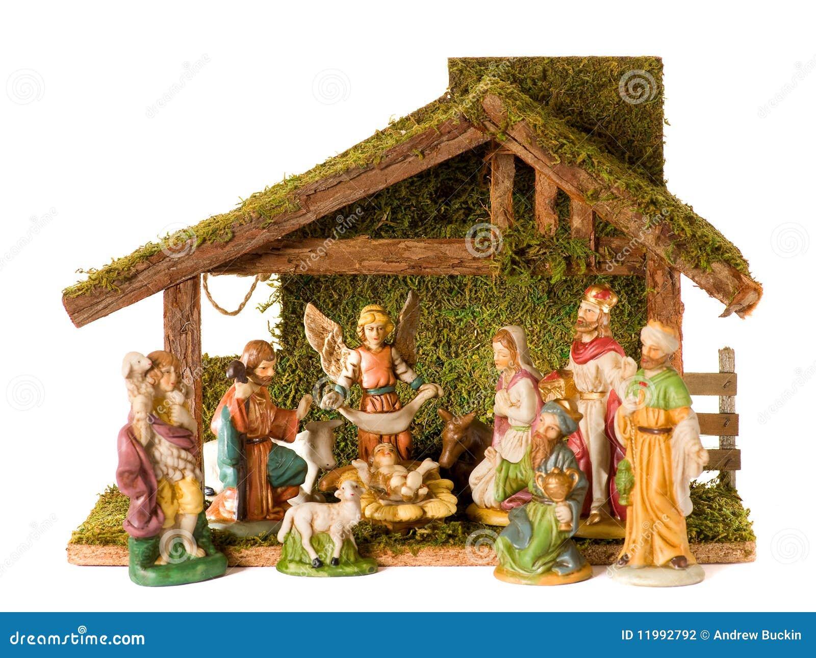 Christmas Crib Stock Photography Image 11992792