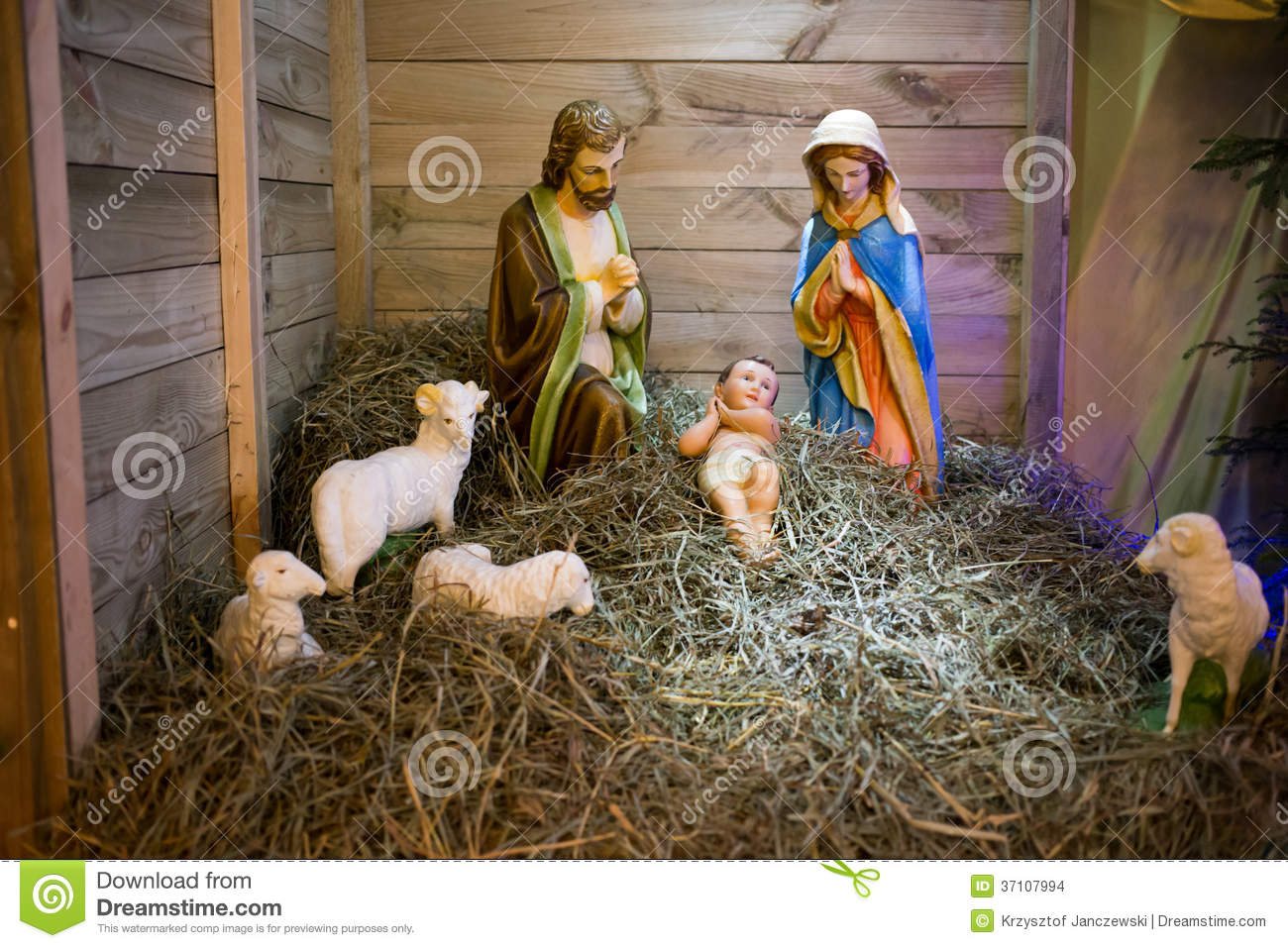 Christmas crib stock photo image of gdansk father - Child jesus images download ...