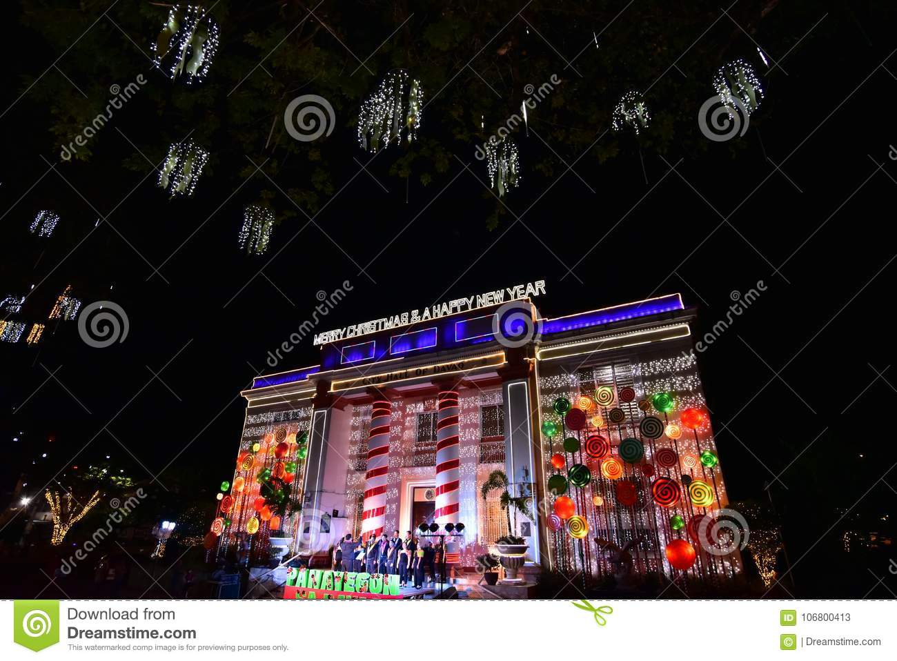Christmas in Davao City, Philippines