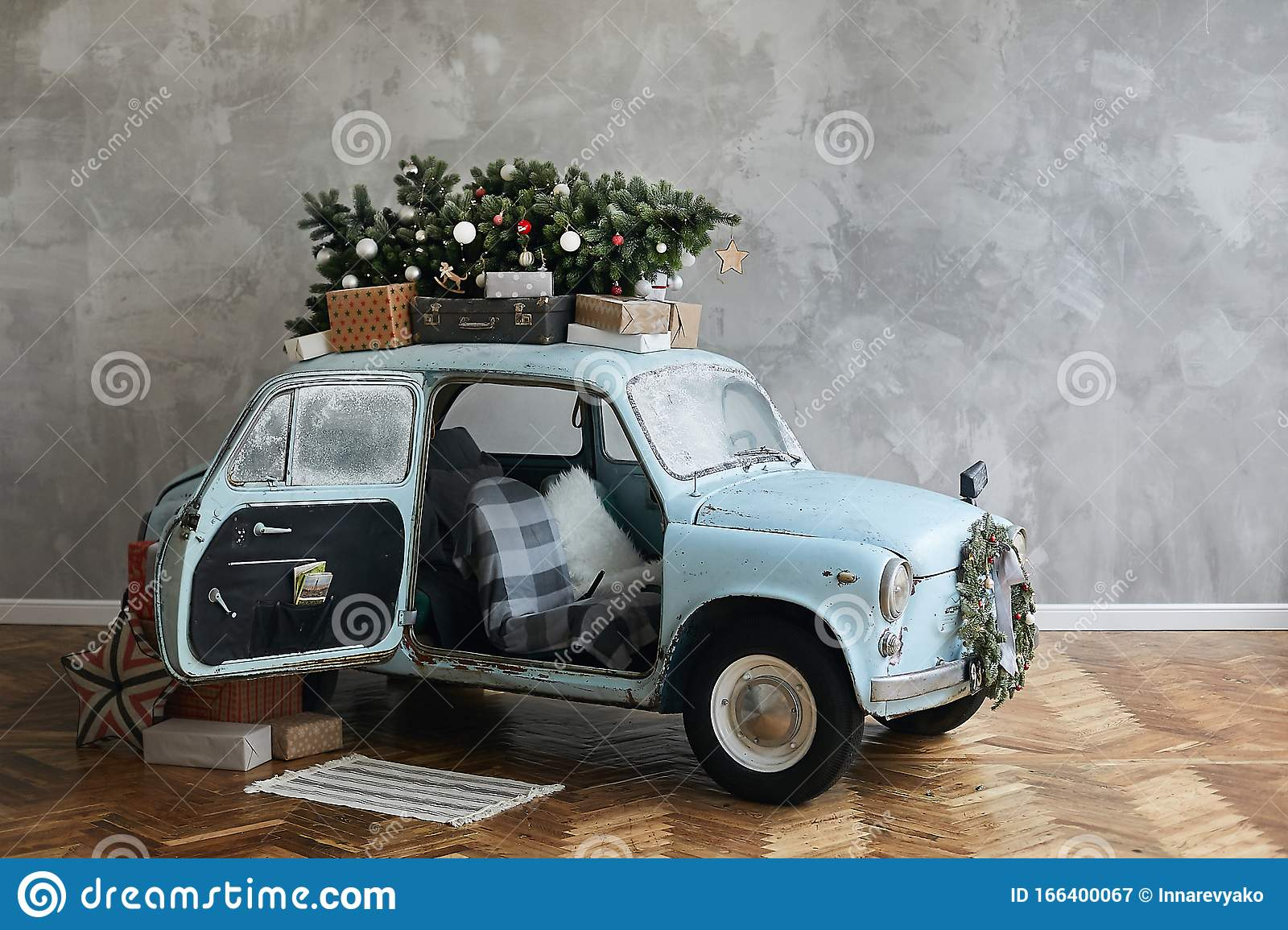 789 Christmas Classic Car Photos Free Royalty Free Stock Photos From Dreamstime