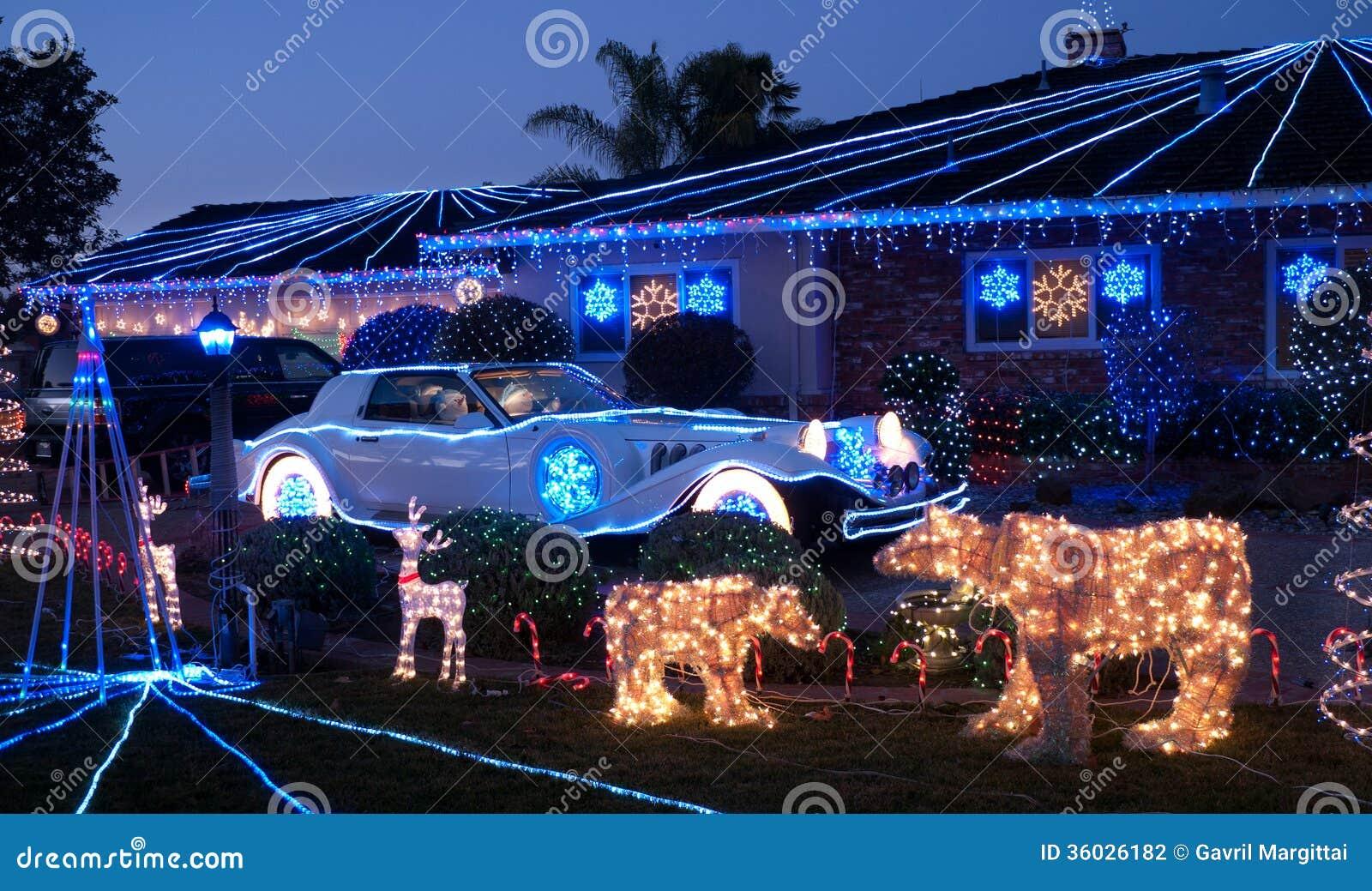 Auto Christmas Lights