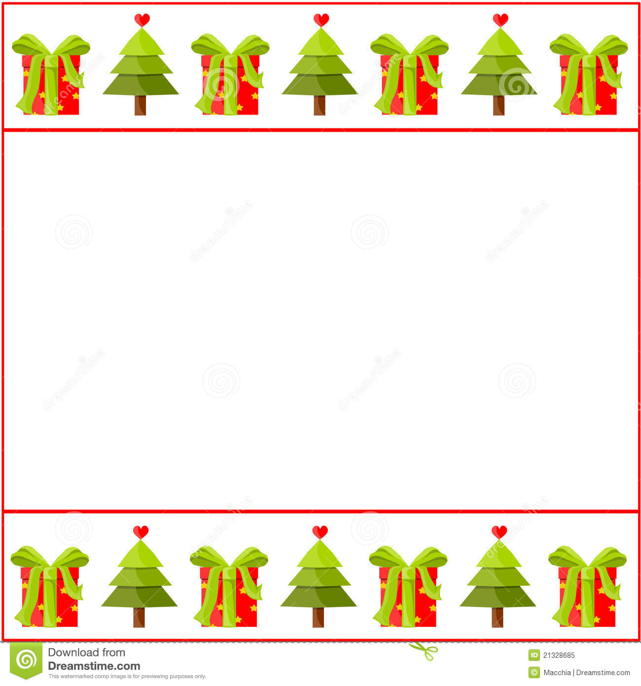 Christmas Decorated Paper Royalty Free Stock Photo - Image: 21328685
