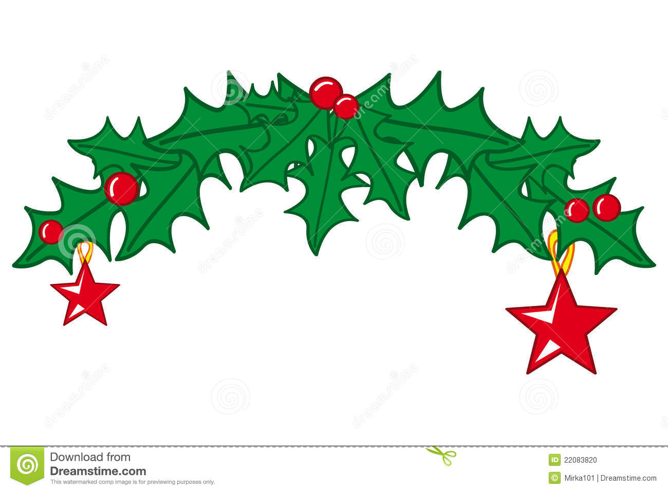 Decorating For Christmas Clipart