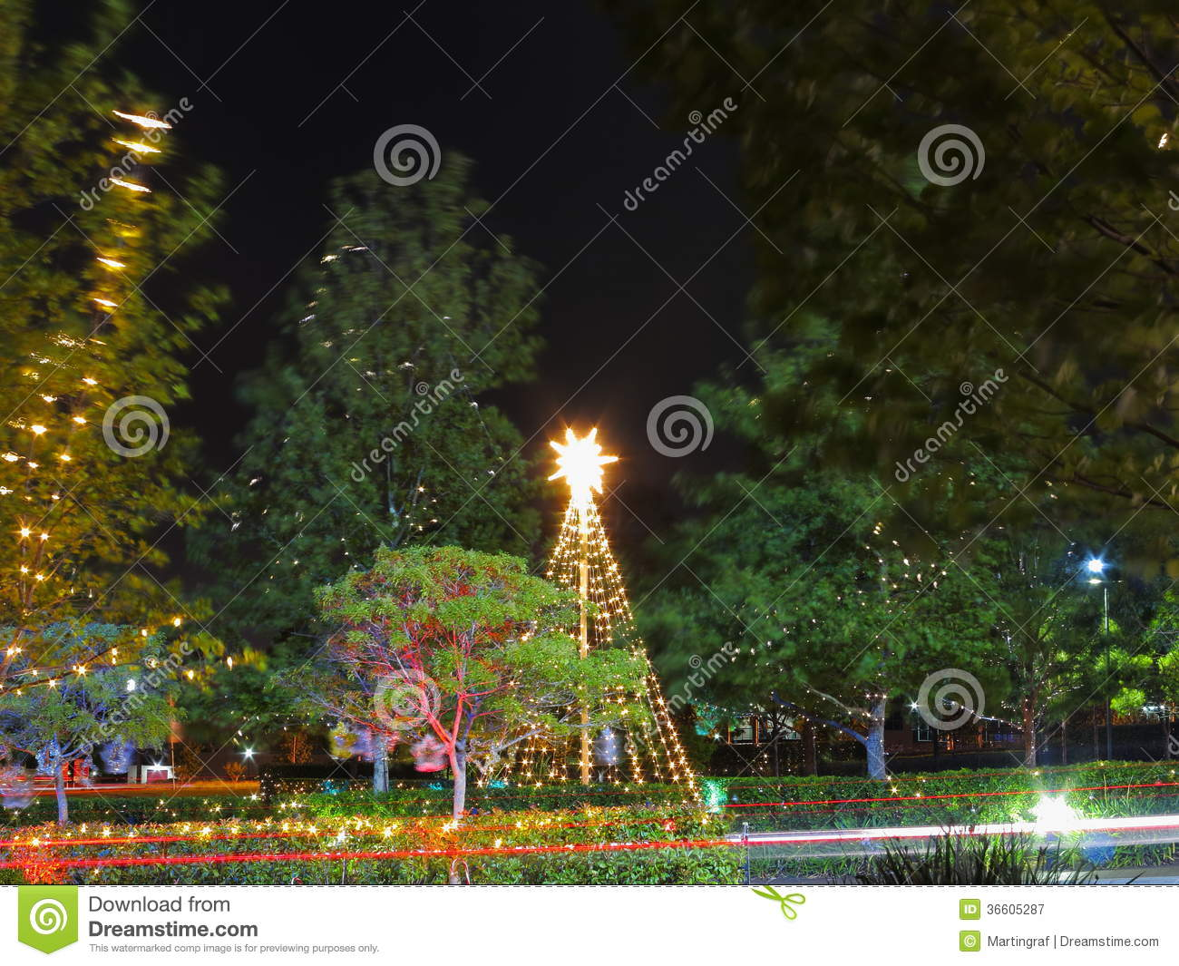 Holiday decor australian summer night stock image image for Australian decoration