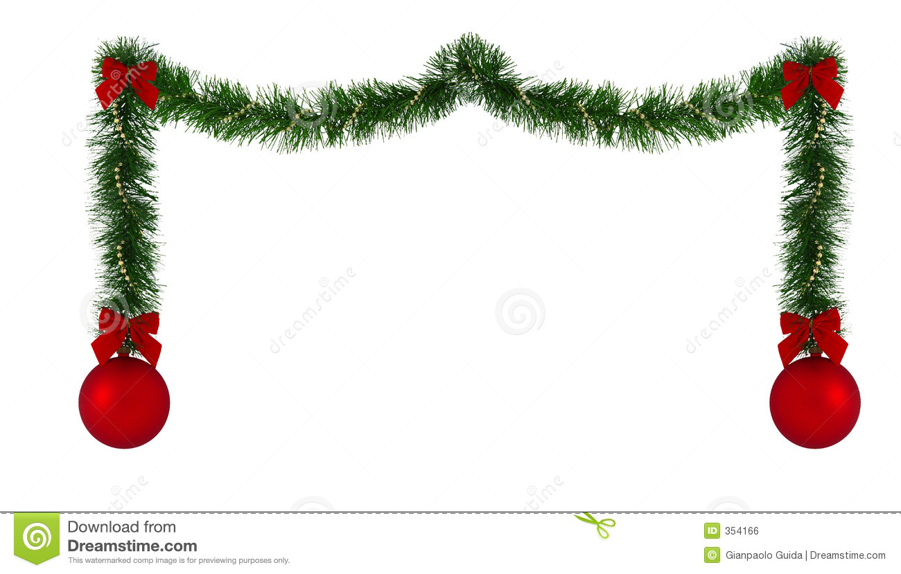 Christmas Decoration Images Fascinating Christmas Decoration Border Royalty Free Stock Image  Image 354166 Inspiration
