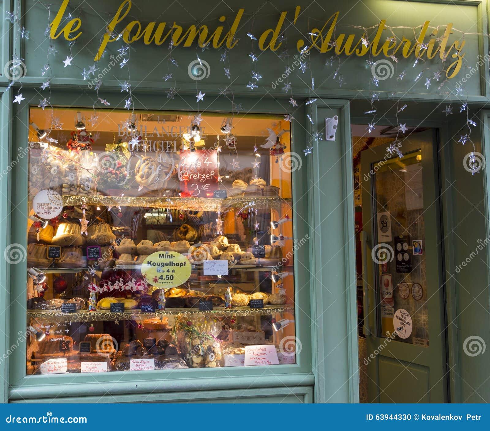 Christmas Decoration Store Portland Oregon: Christmas Decoration Of Bread And Cake Shop Le Fournil D