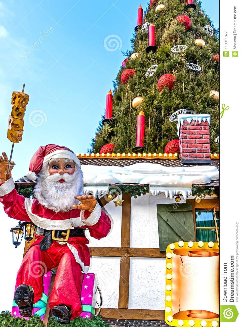 Christmas Decoration At Christmas Market In Dortmund Germany Stock Image Image Of International Interest 110011877