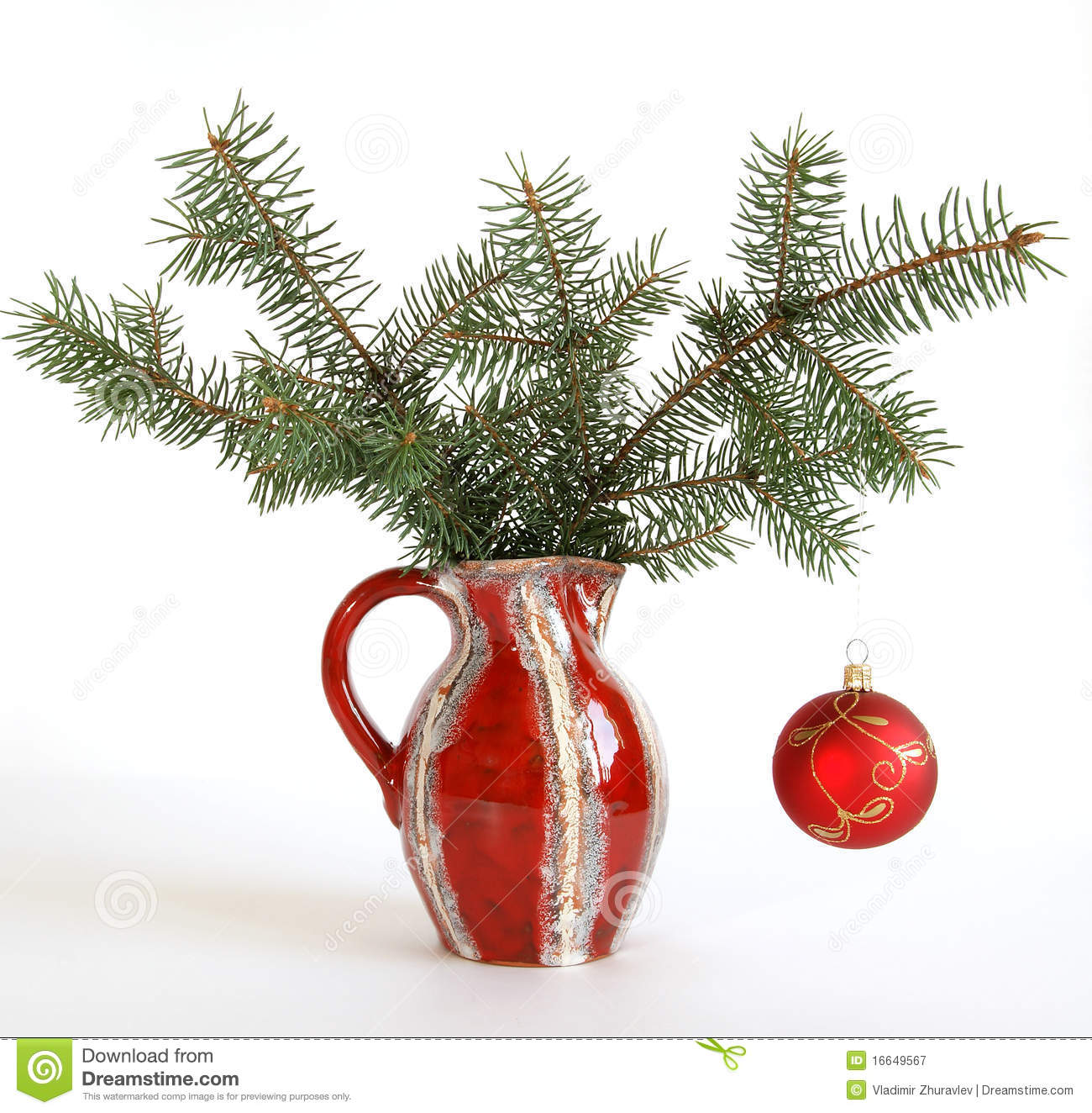 christmas decoration in colored glass vase - How To Decorate Glass Vases For Christmas