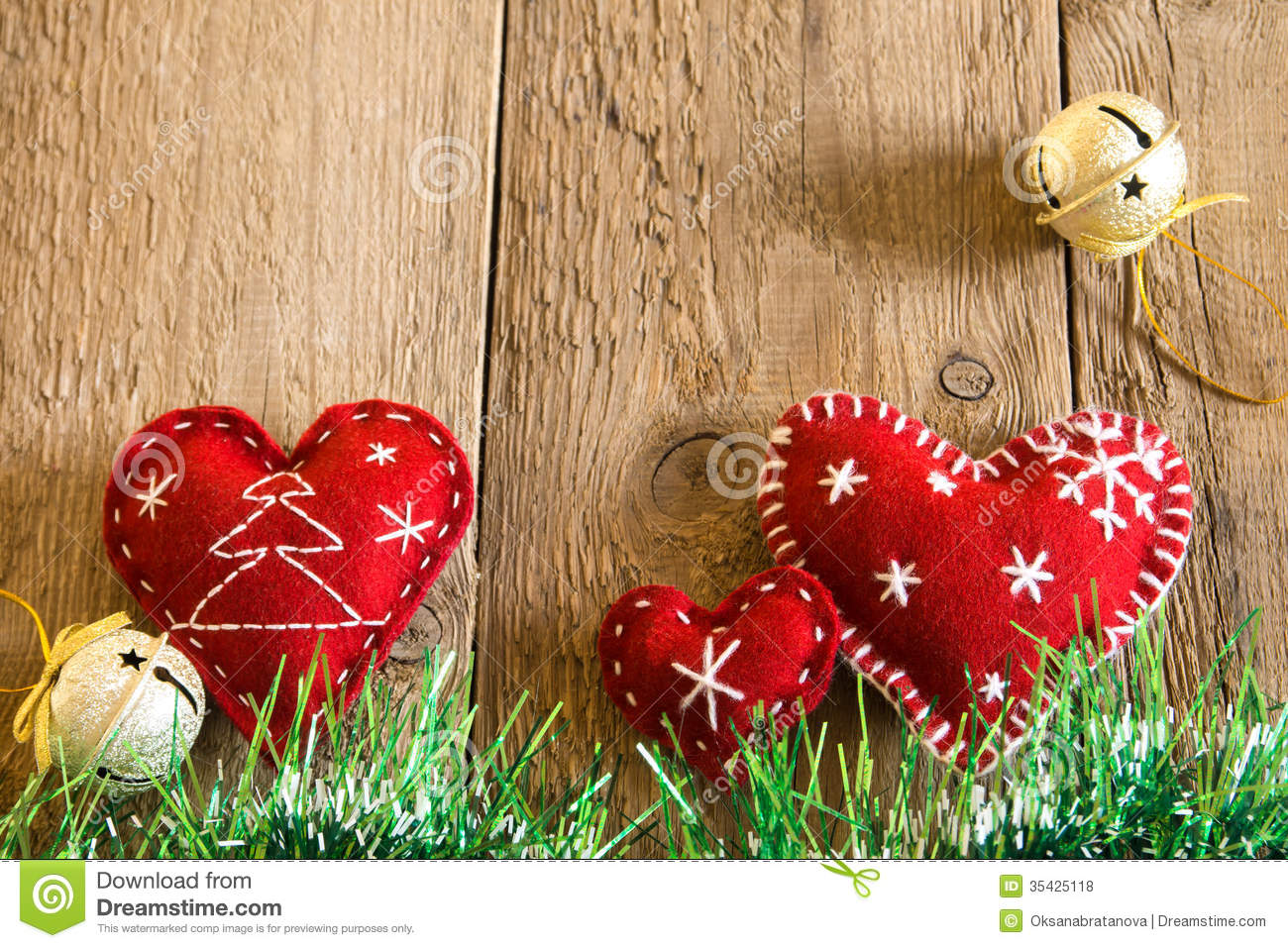 christmas decoration stock photo  image of heart  closeup