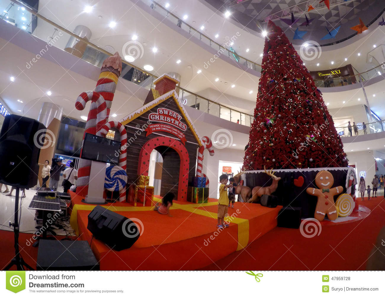 Christmas decoration Editorial Stock Photo