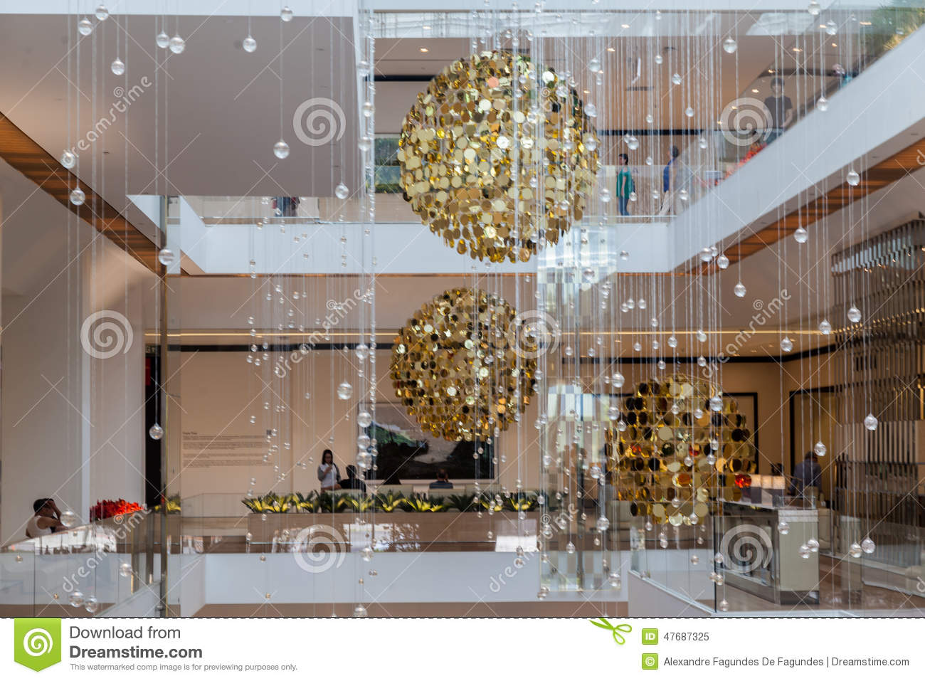 Christmas decor to hang from ceiling - Brazil Bublles Ceiling Christmas Decoration Golden Hanging