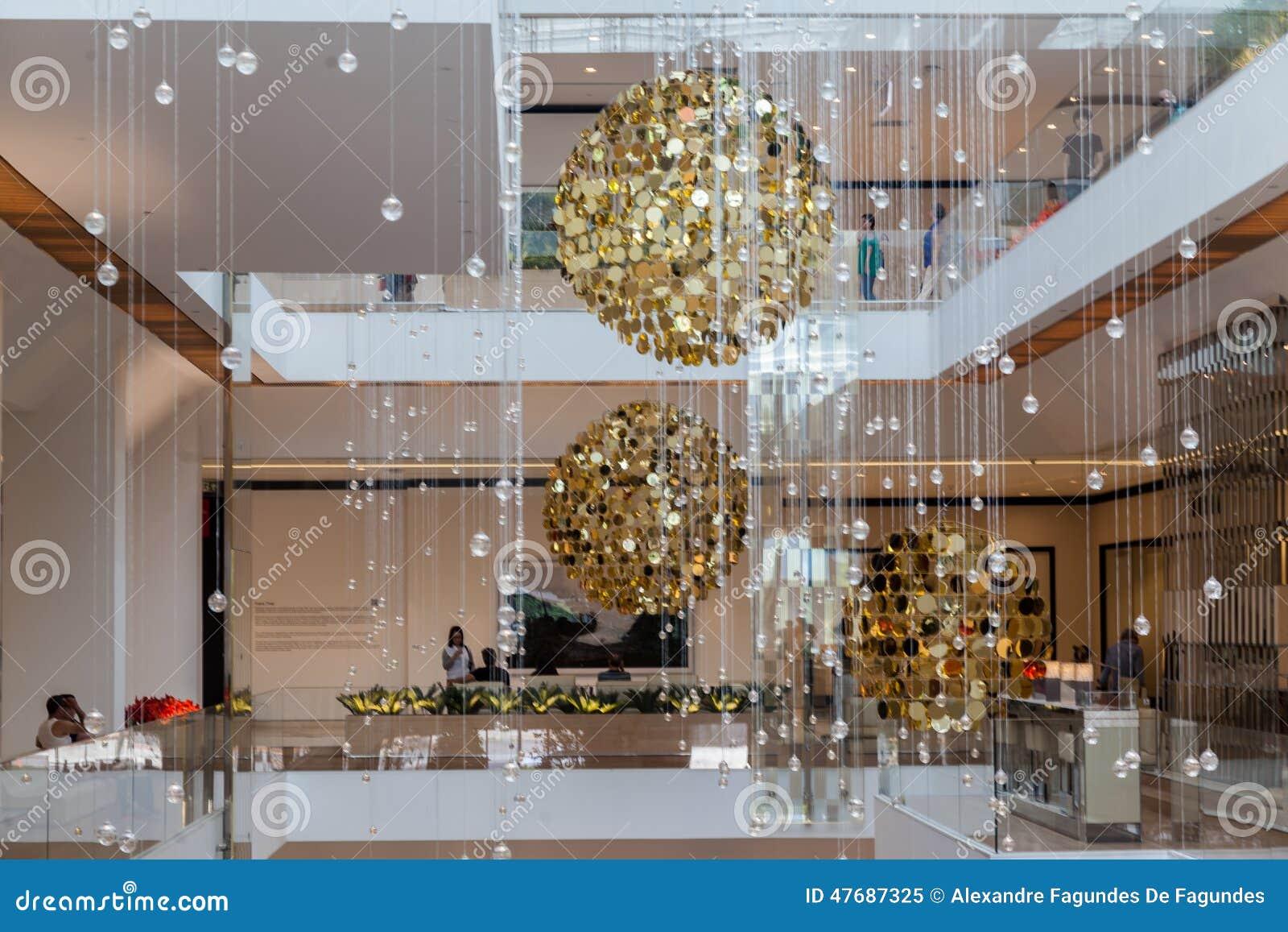 Christmas Hanging Ceiling Decorations Christmas Decoration Jk Mall Sao Paulo Editorial Image  Image .
