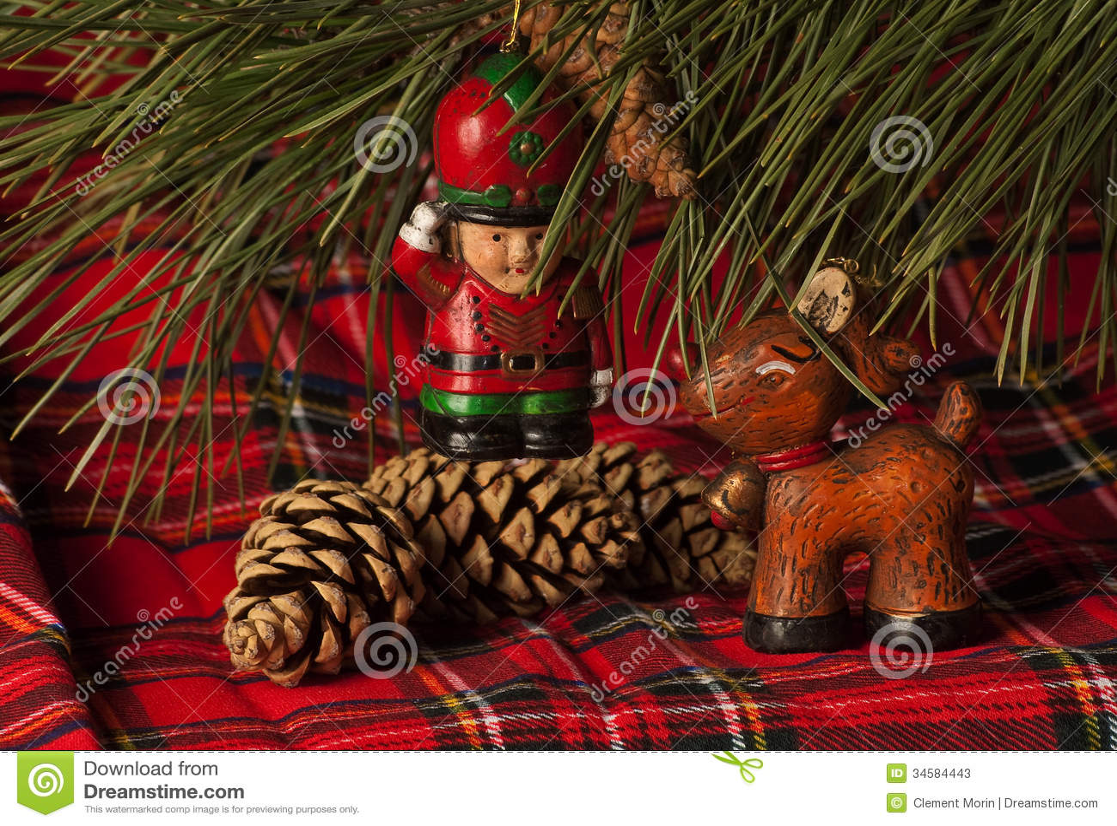 Christmas Decoration Stock Photos Image 34584443