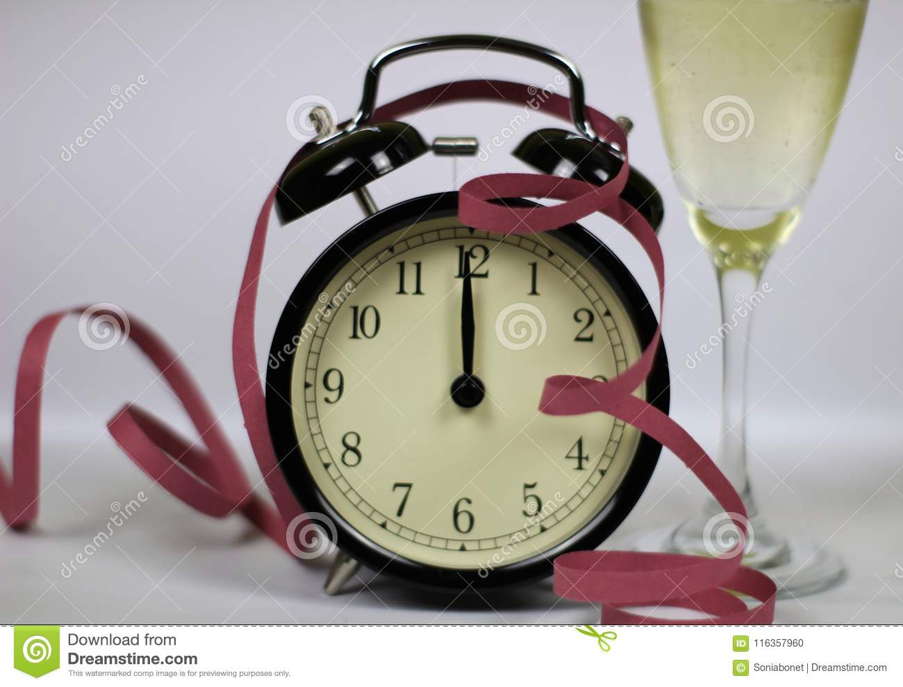 Christmas and new year's eve celebration and countdown