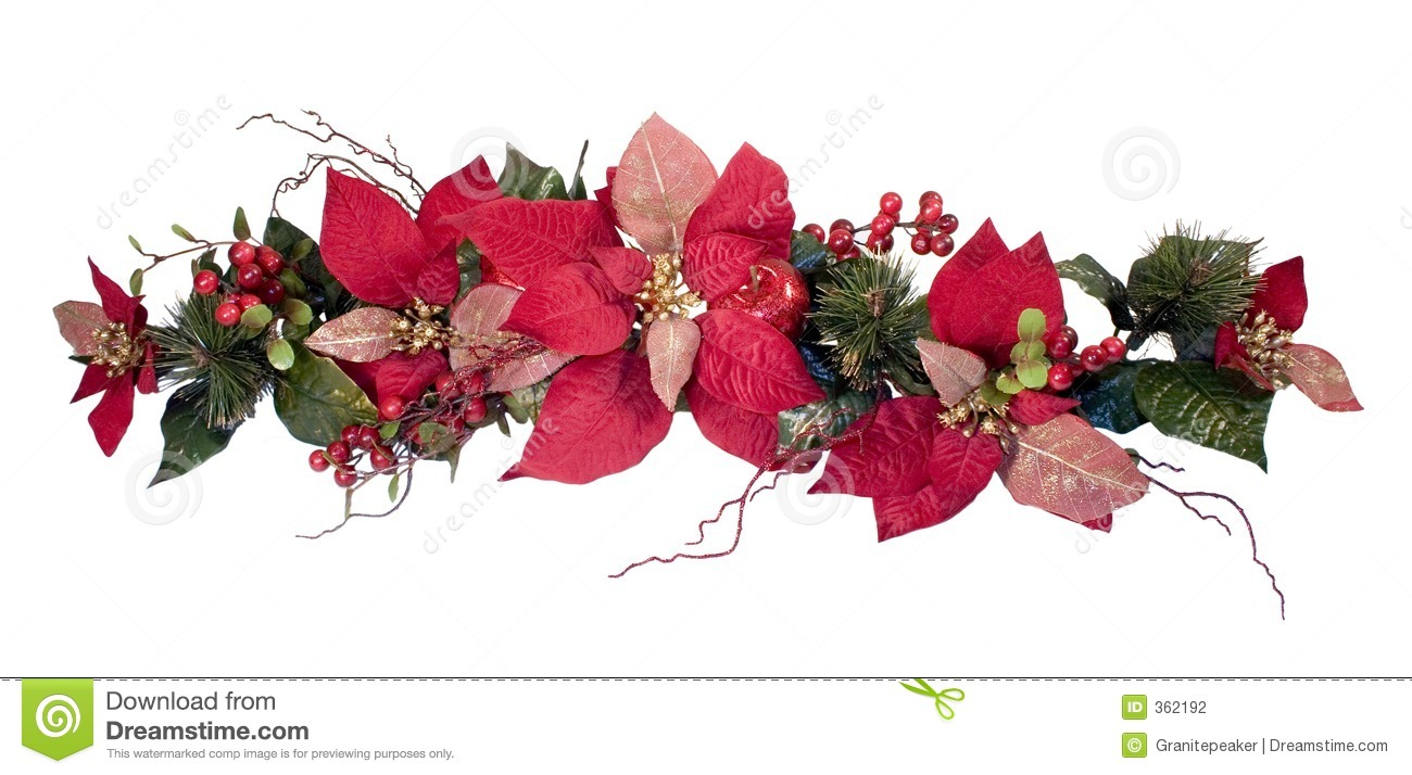 Christmas Decoration - Poinsettia