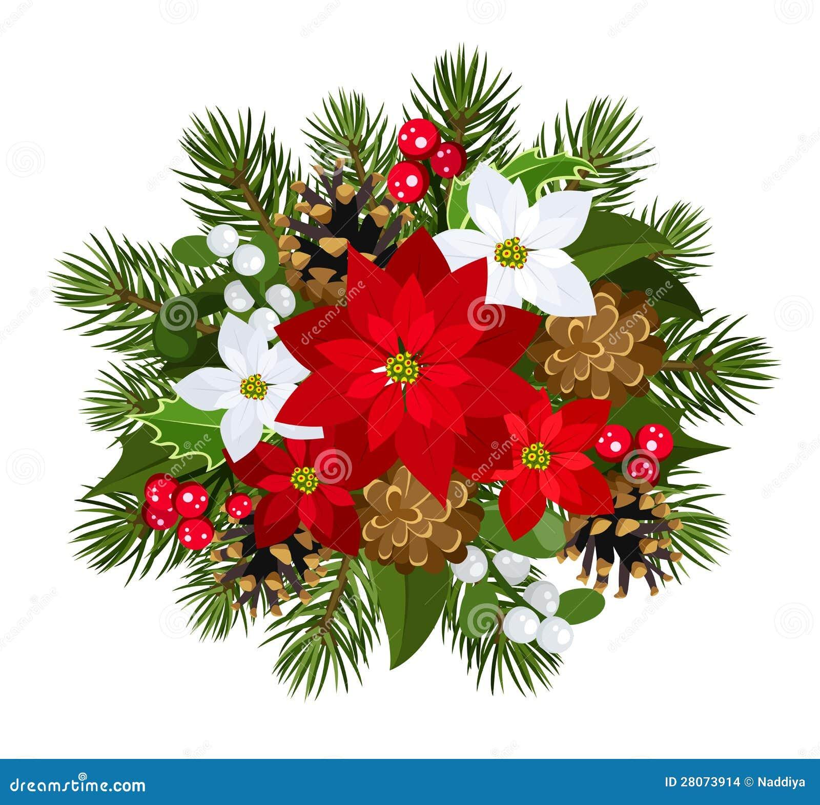 #C70412 Christmas Decoration. Vector Illustration. Stock Images  6361 décoration noel commerce 1300x1294 px @ aertt.com