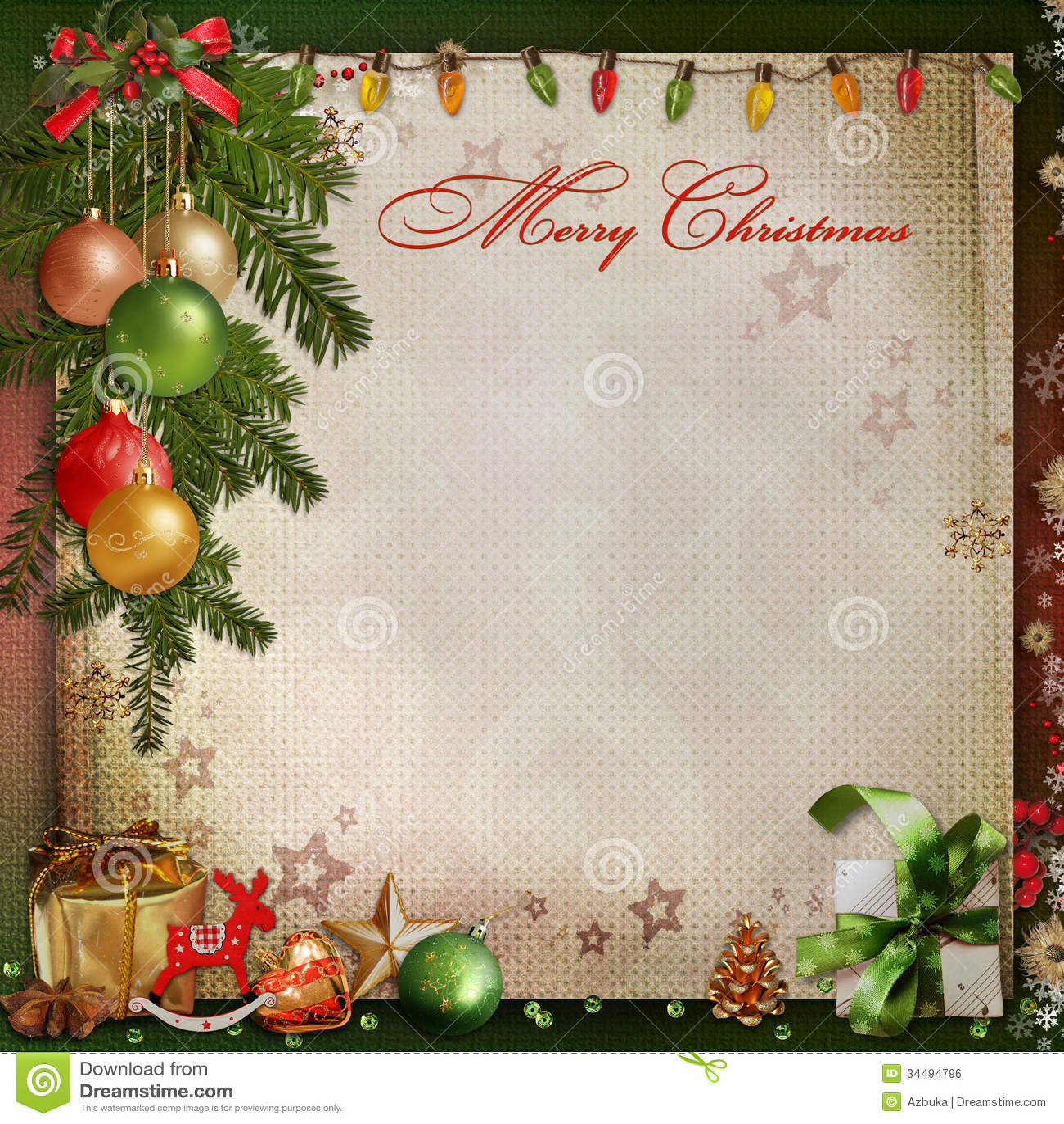 #B1201A Christmas Decoration On A Vintage Background Royalty Free  5535 décorations de noel vintage 1300x1390 px @ aertt.com