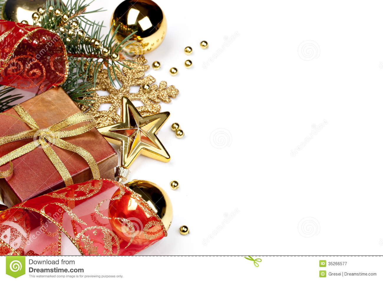 Christmas decoration royalty free stock photography image 35266577 for Photo decoration