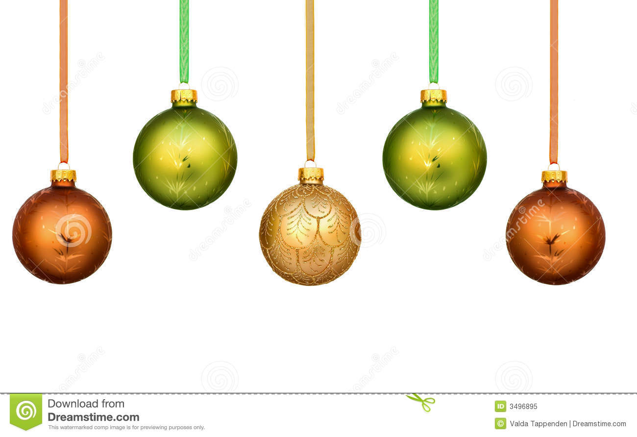 christmas decorations - Green Christmas Decorations