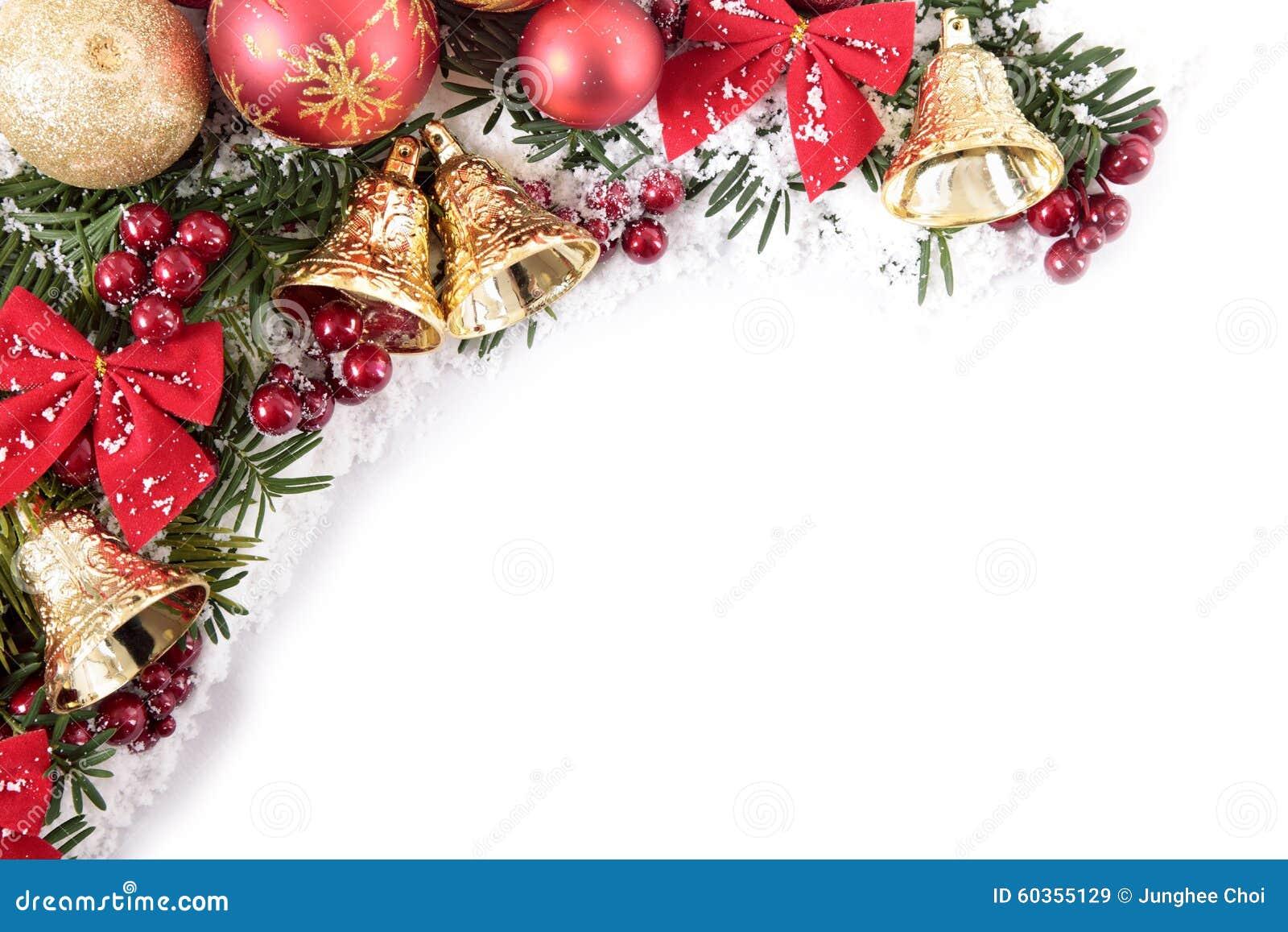 #AB202C Christmas Decorations Corner Border Frame With White Copy  6411 décoration noel fabriquer cm1 1300x957 px @ aertt.com
