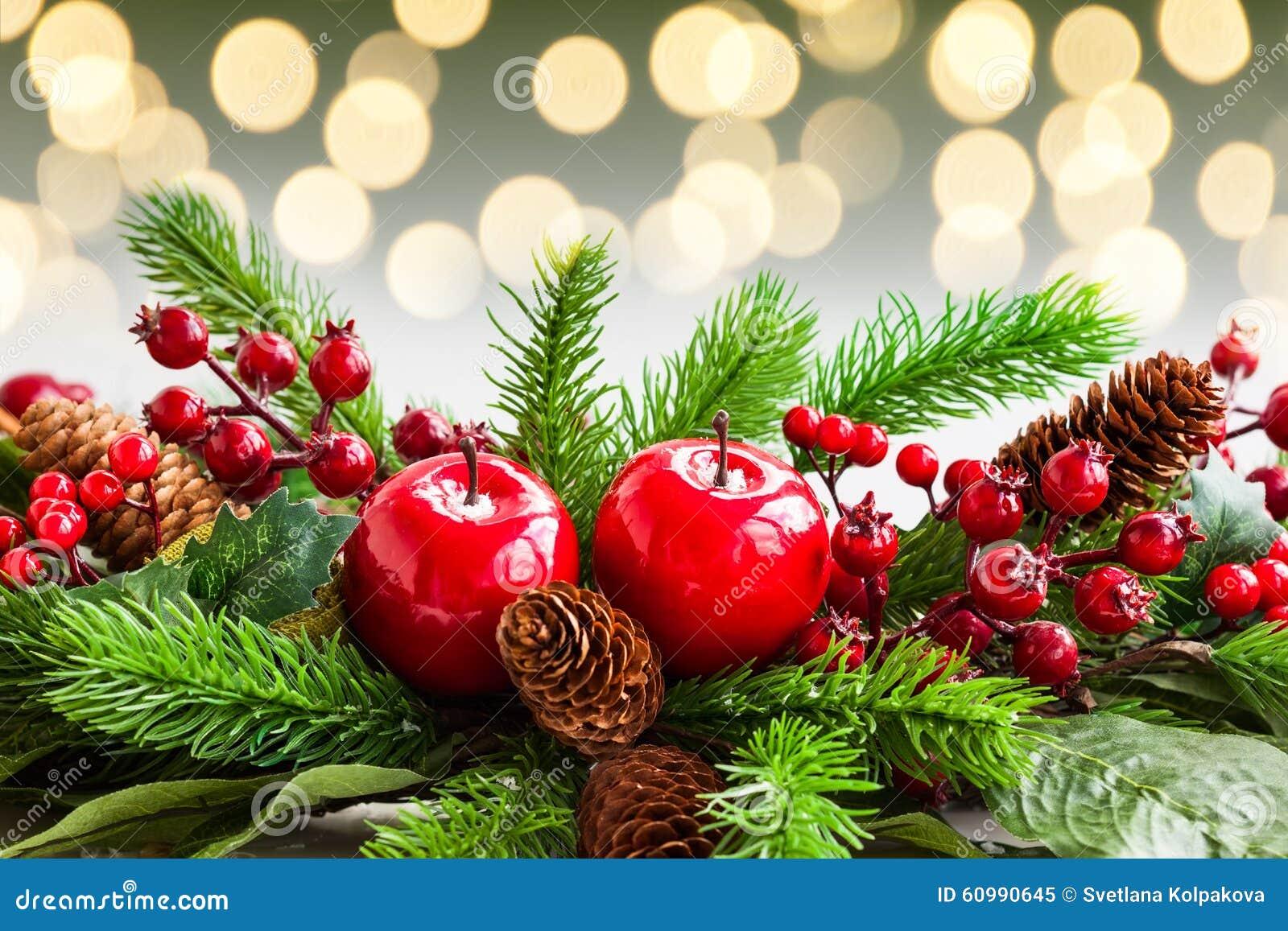 Christmas Decorations Stock Photo Image 60990645
