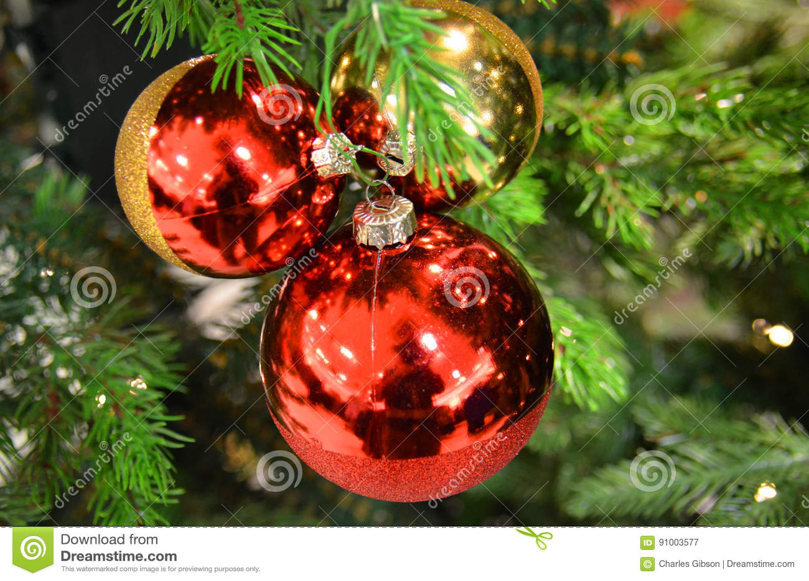 England Christmas Decorations.Christmas Decorations Stock Image Image Of London England