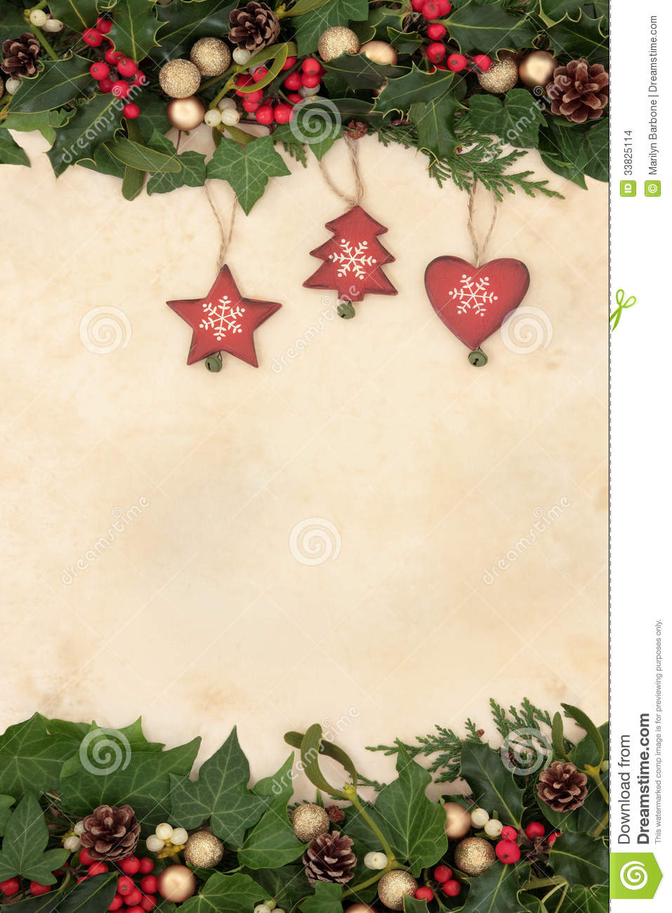 Free Clipart Of Christmas Decorations