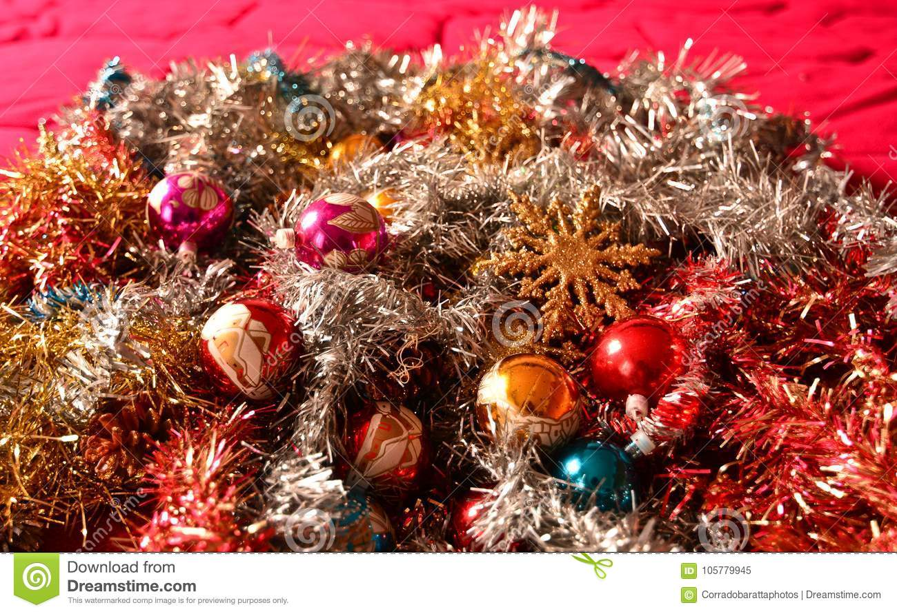 Finland Christmas Decorations.Christmas Decorations With Golden Stars Waiting For The