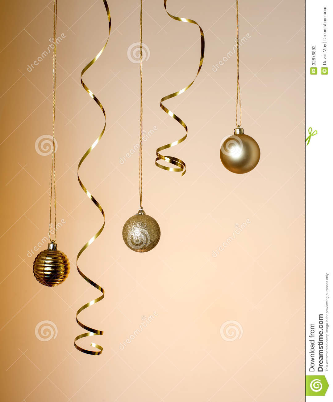 Christmas decorations hanging stock photo image 32876892 for Hanging christmas decorations