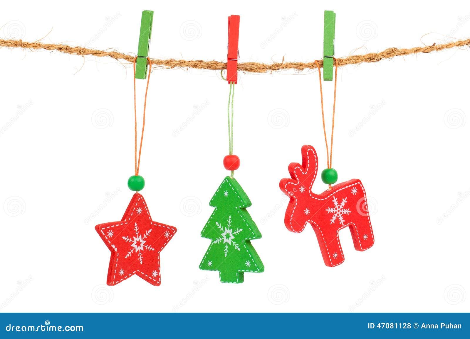 Hanging Decorations Stock Image 3474295
