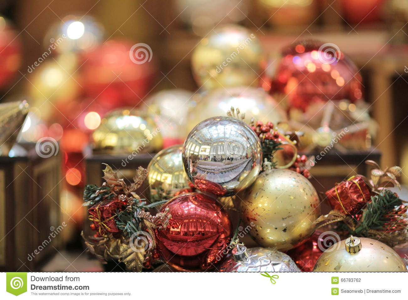 download christmas decorations in hong kong stock photo image of chinese bustle 66783762 - Chinese Christmas Decorations