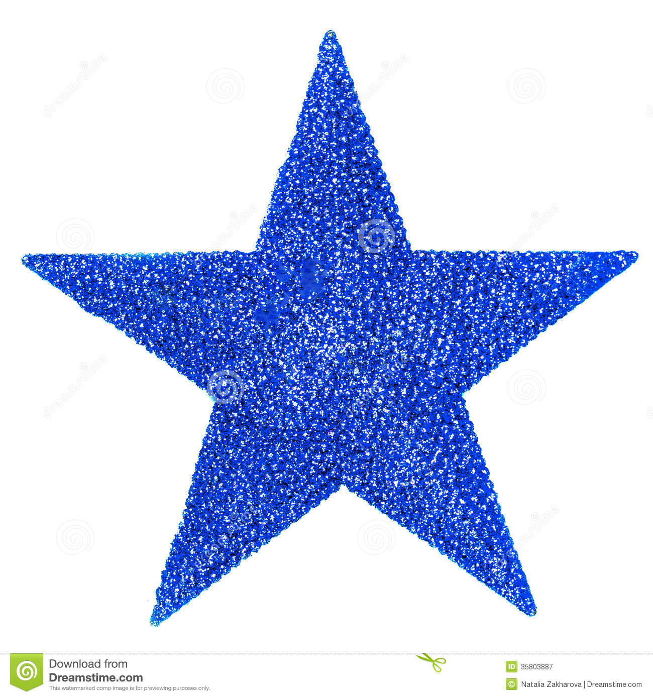 christmas decorations isolated on white backhrouns festive blue star christmas card - Christmas Star Decorations