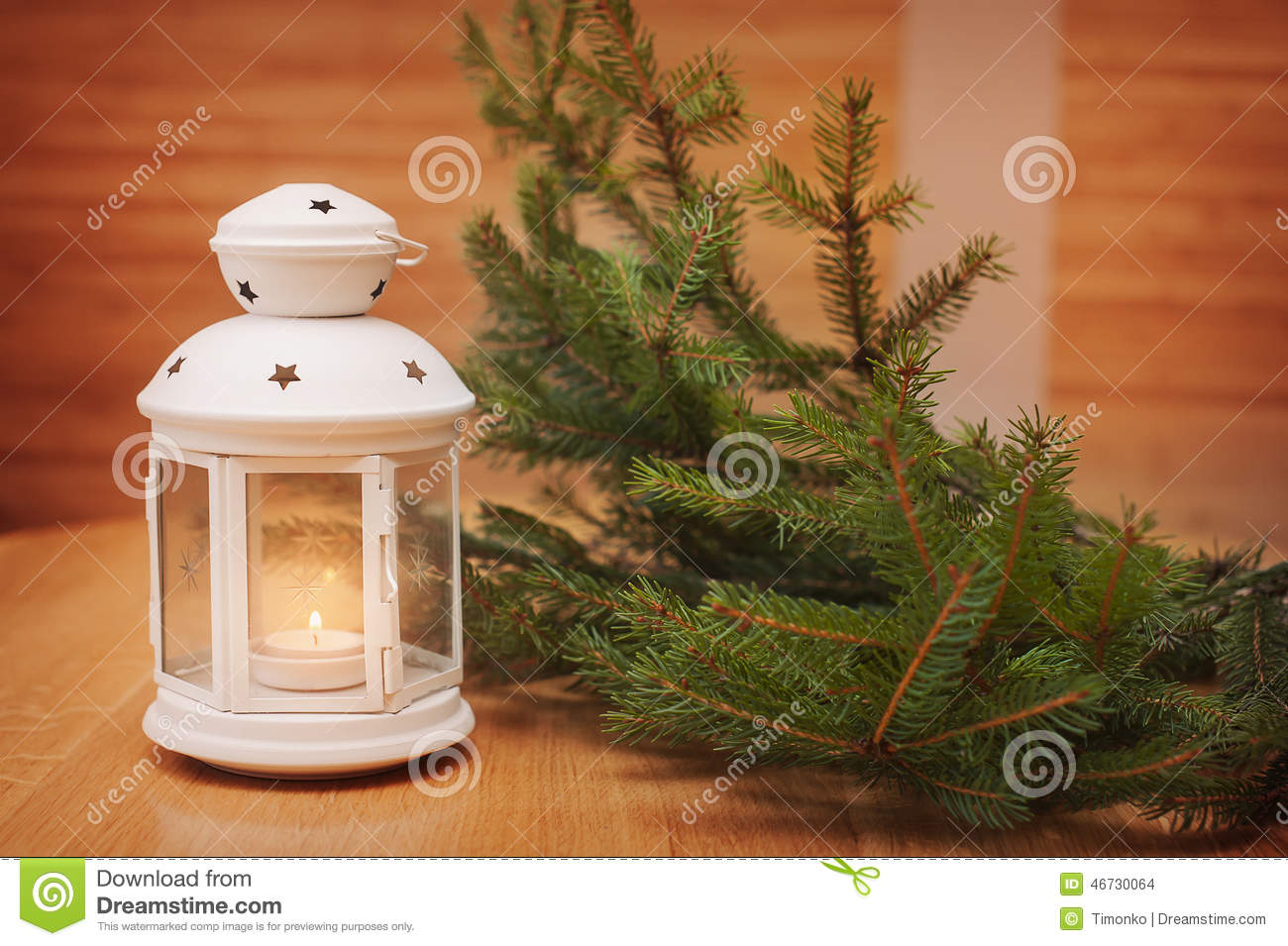 download christmas decorations with lantern christmas greeting card stock photo image of rural