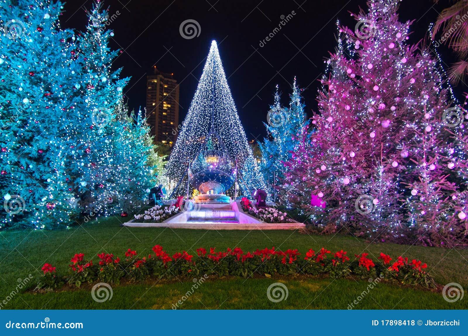 Christmas Decorations In Monaco, Montecarlo,France ...