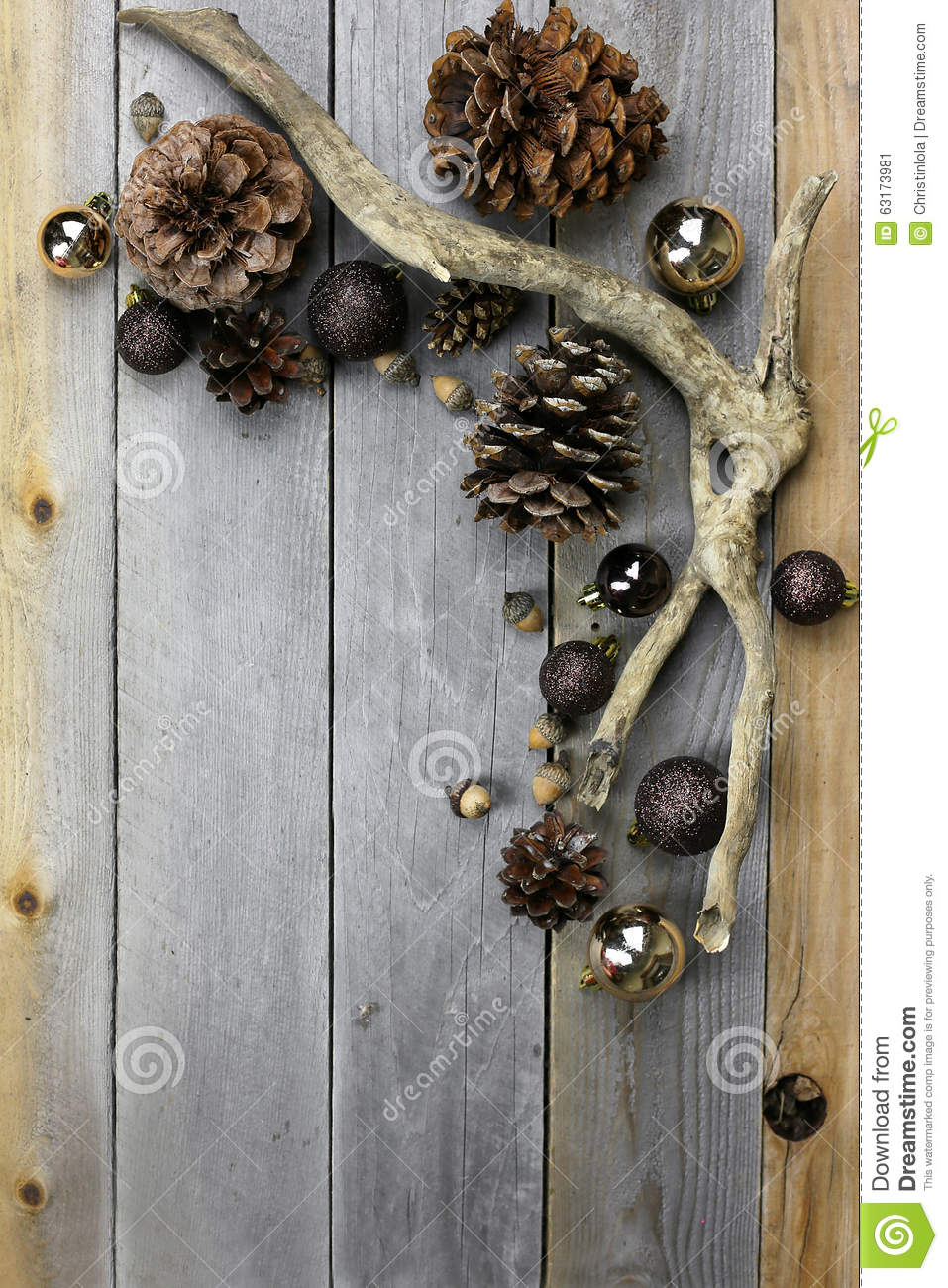Christmas Decorations From Nature Part - 39: Royalty-Free Stock Photo