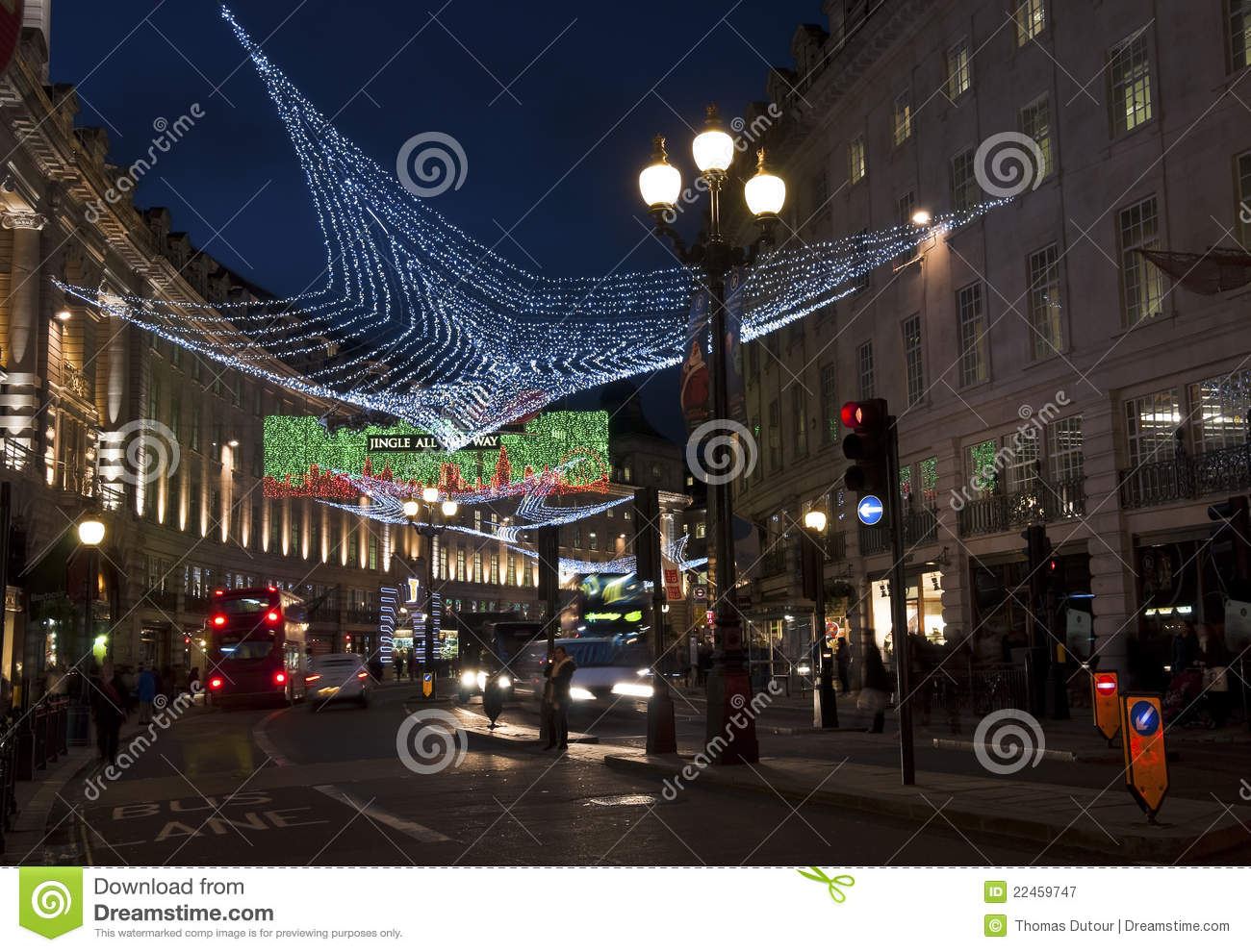download christmas decorations in regent street london editorial photography image of shops transportation - London Christmas Decorations